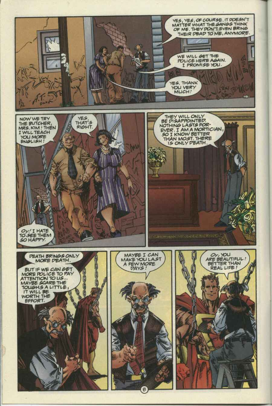 Read online Ultraverse Premiere comic -  Issue #4 - 8
