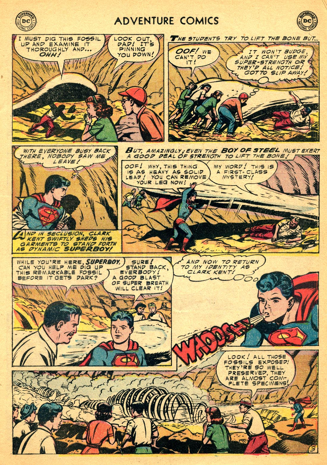 Read online Adventure Comics (1938) comic -  Issue #206 - 5