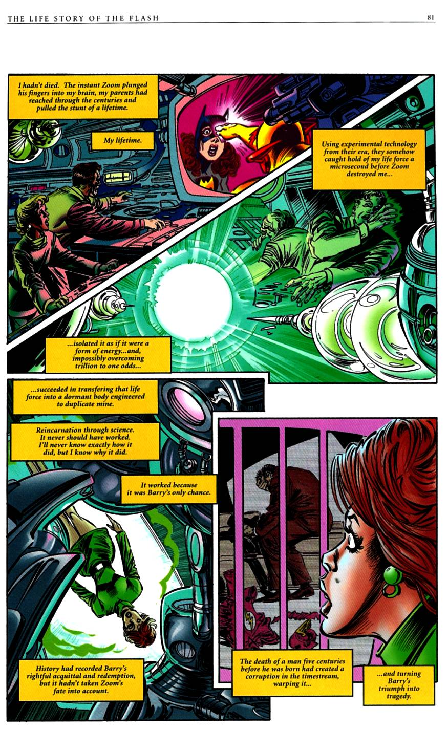 Read online The Life Story of the Flash comic -  Issue # Full - 83