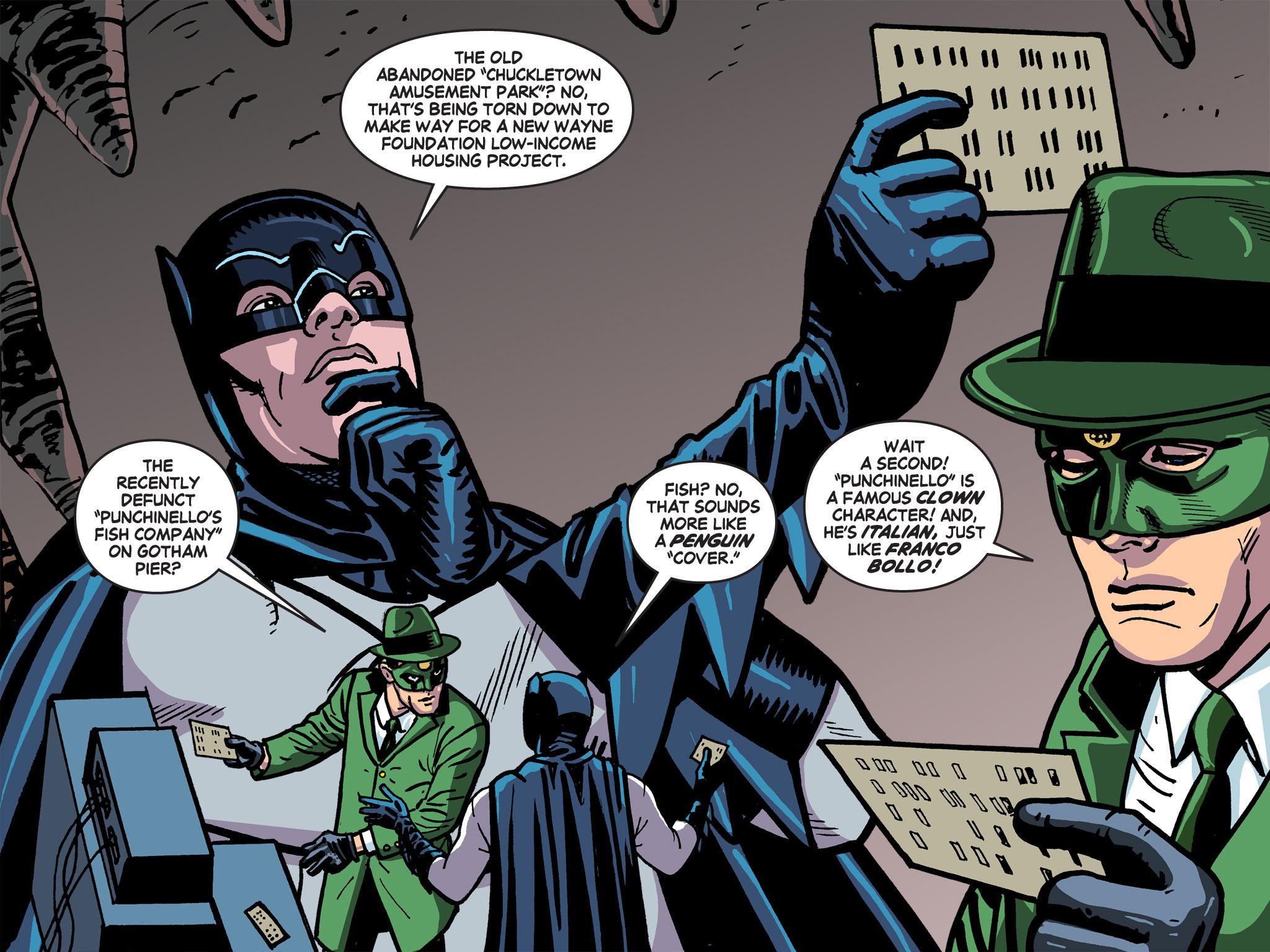 Read online Batman '66 Meets the Green Hornet [II] comic -  Issue #5 - 67