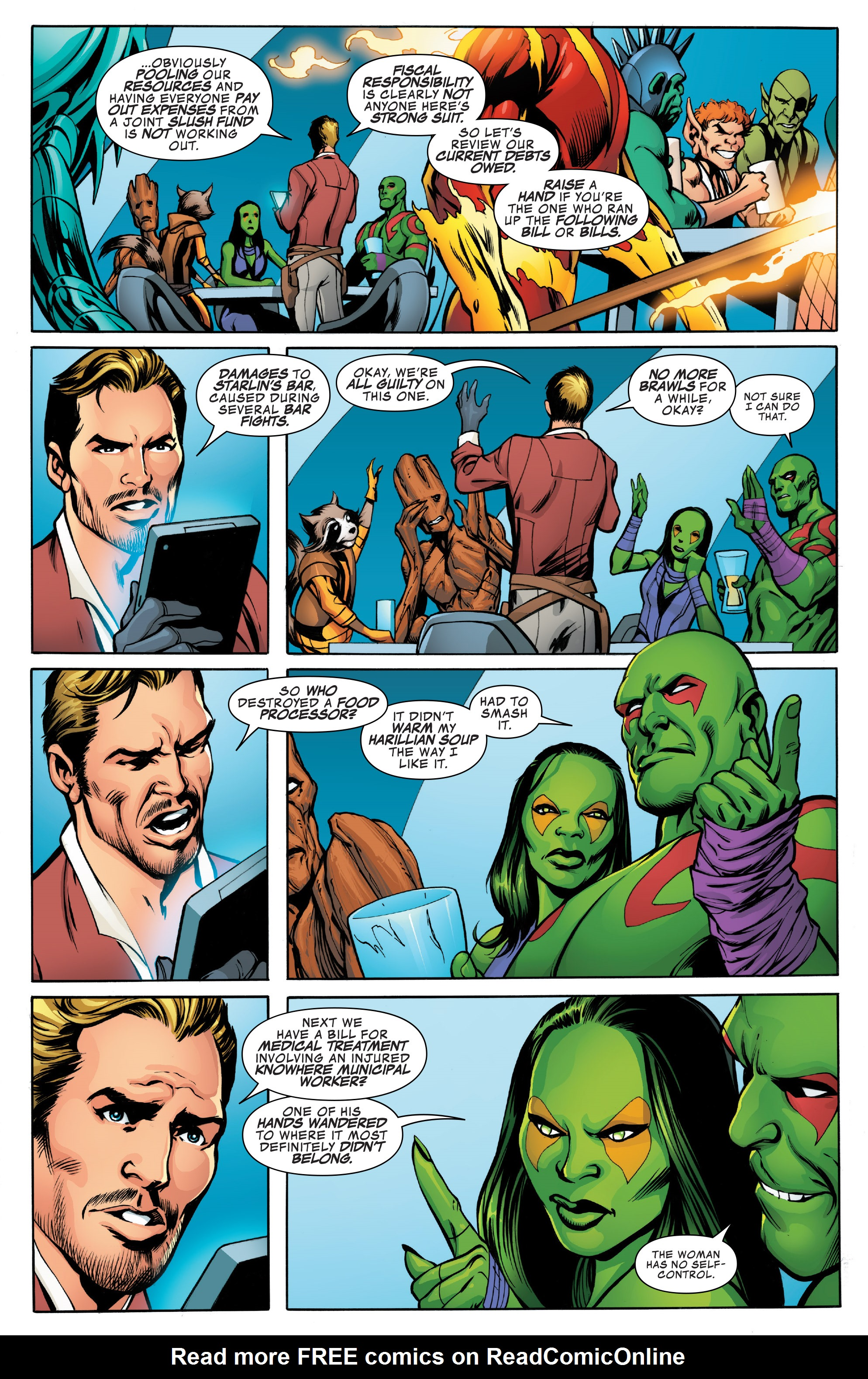 Read online Guardians of the Galaxy: Mother Entropy comic -  Issue #1 - 7