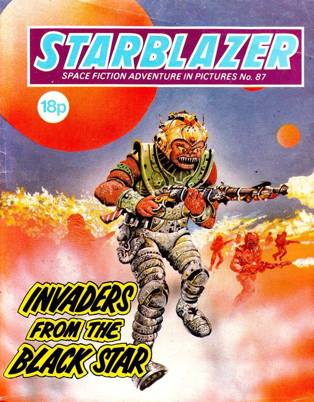Starblazer issue 87 - Page 1
