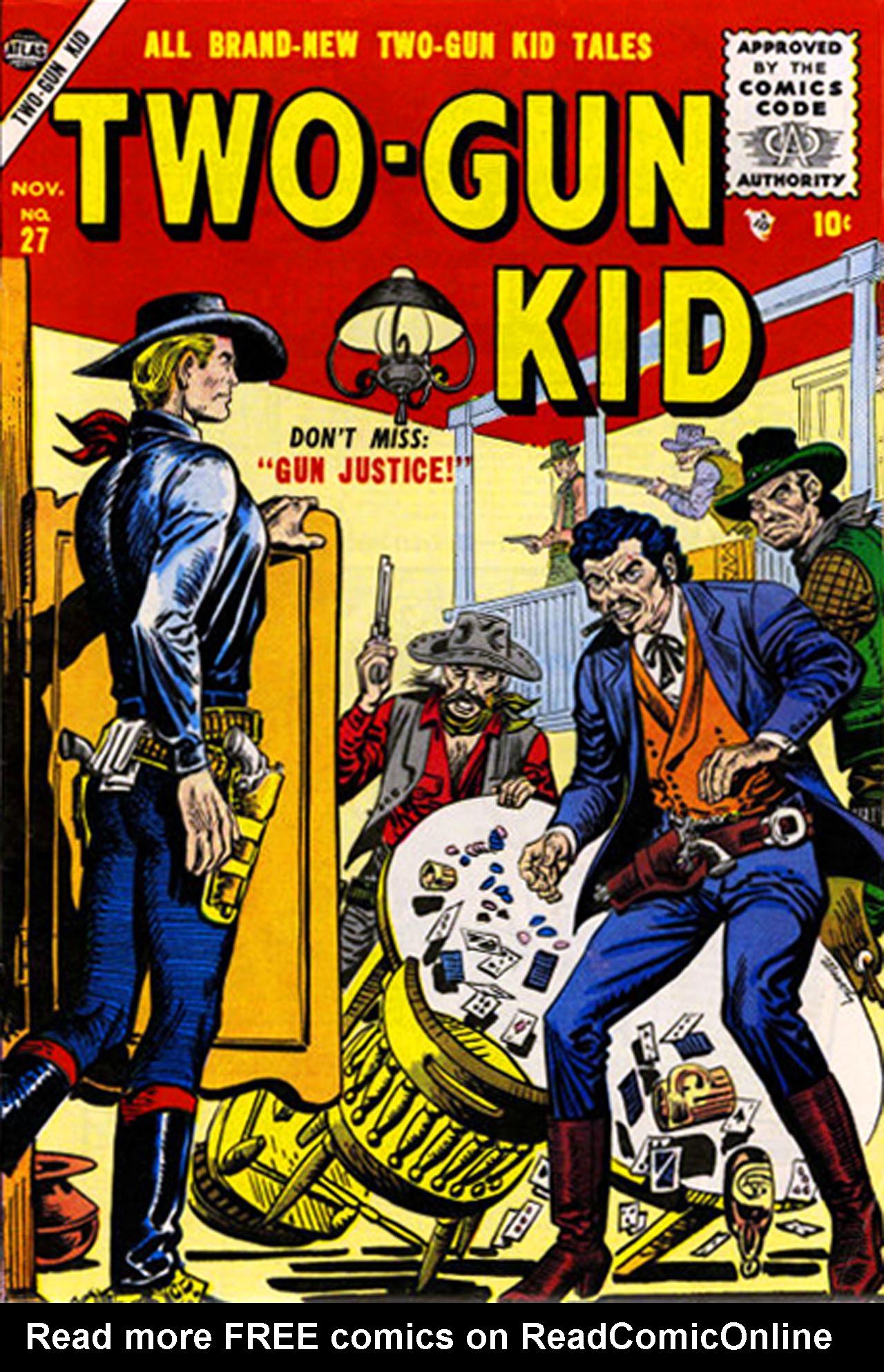 Read online Two-Gun Kid comic -  Issue #27 - 1