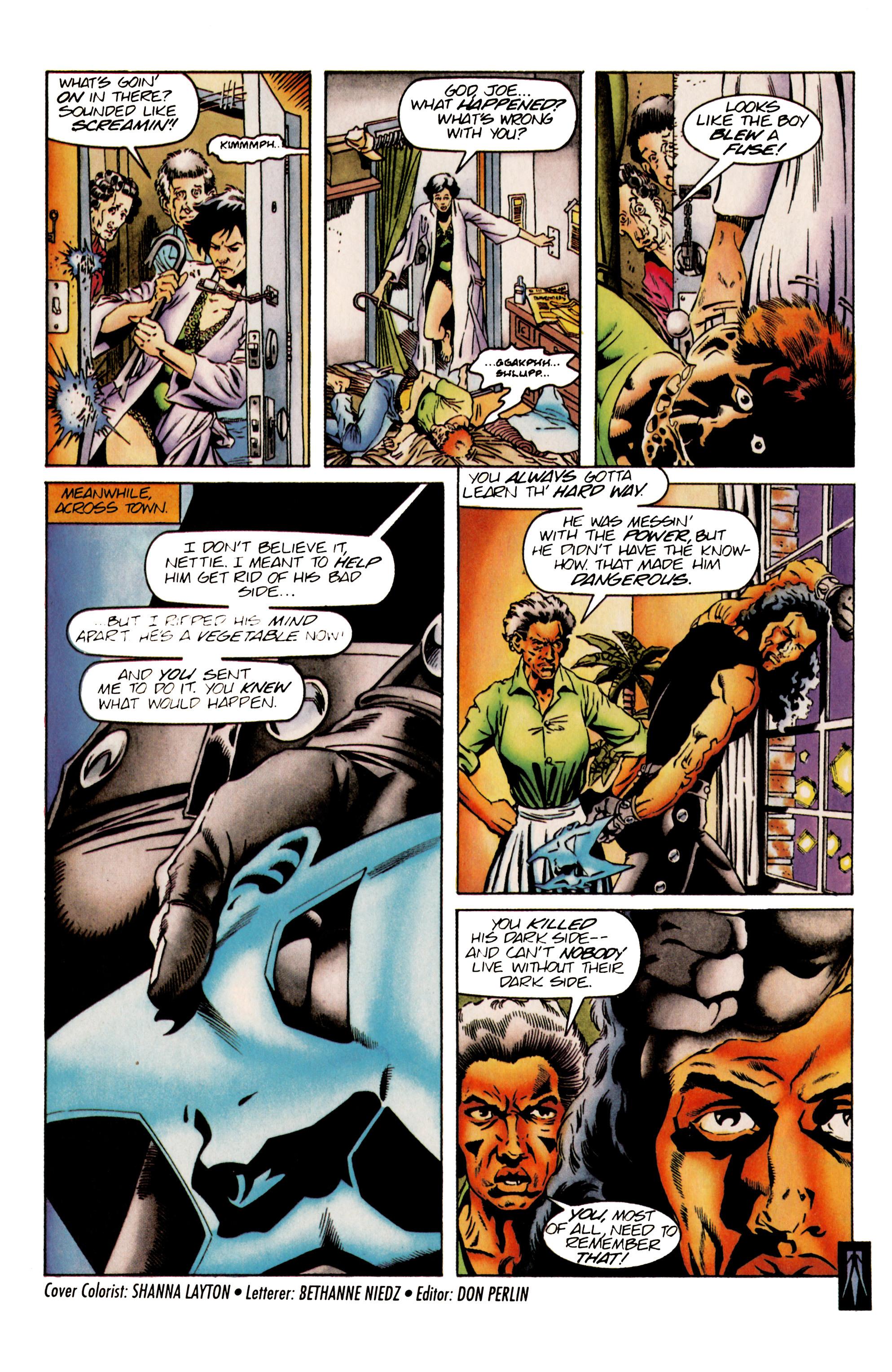 Read online Shadowman (1992) comic -  Issue #25 - 22