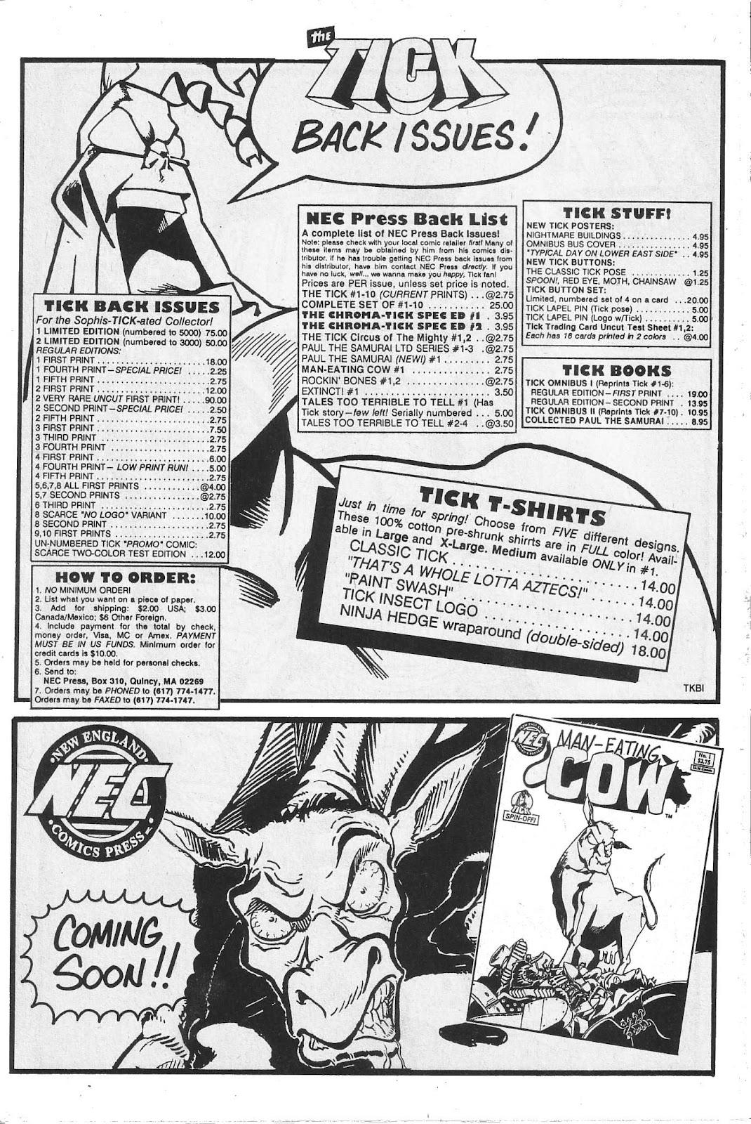 Read online Paul the Samurai (1991) comic -  Issue # TPB - 98