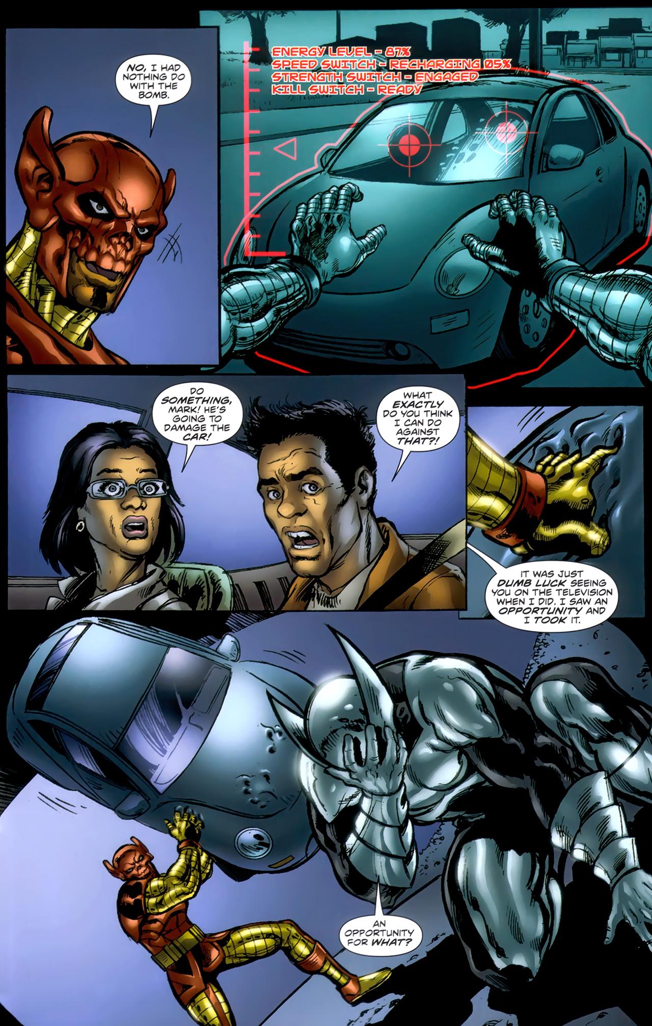 Read online ShadowHawk (2010) comic -  Issue #1 - 13