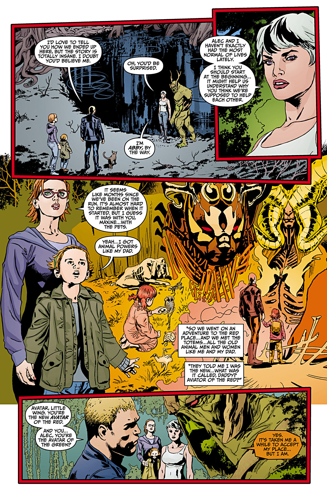 Read online Animal Man (2011) comic -  Issue #12 - 10