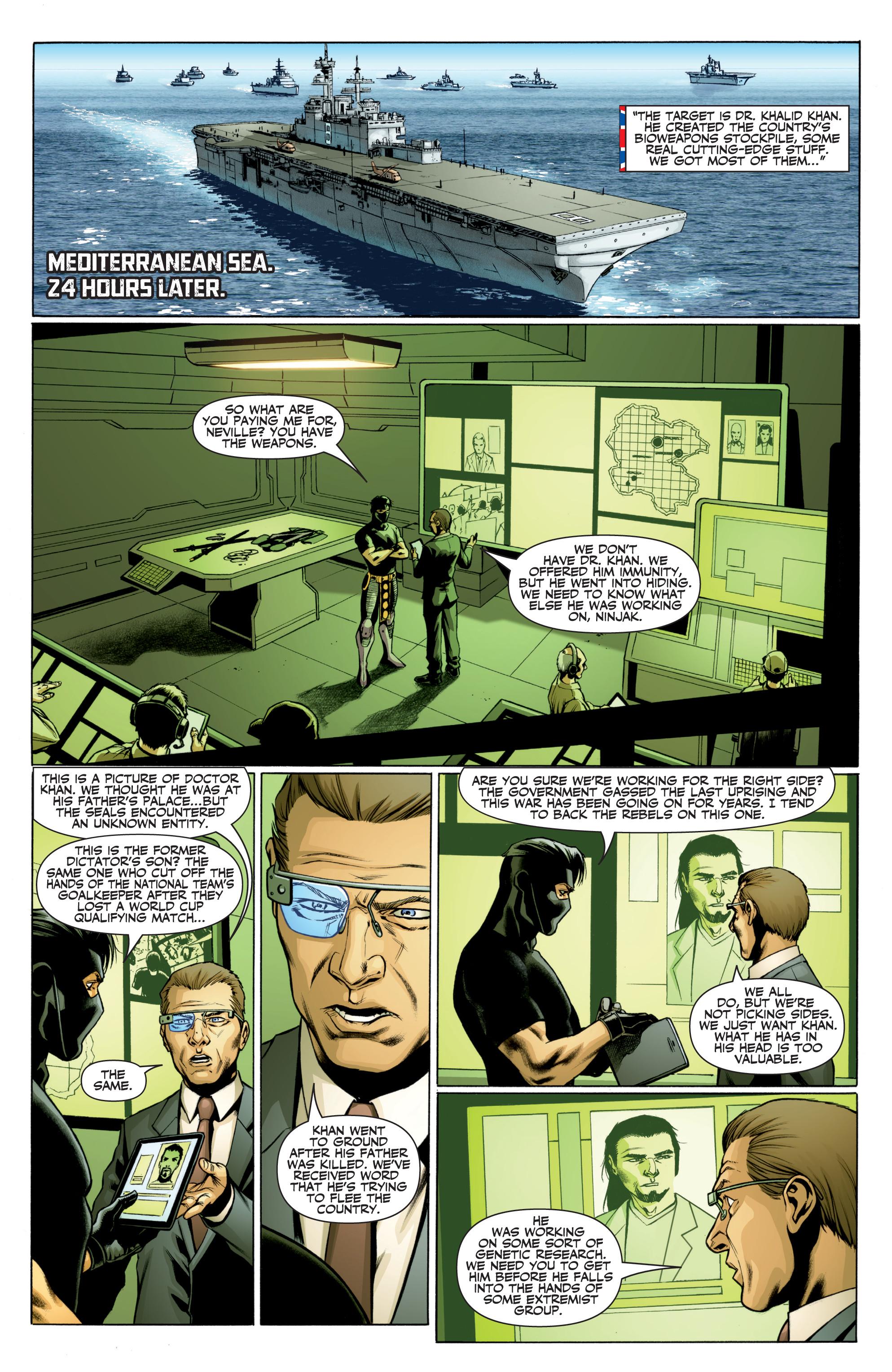Read online Ninjak (2015) comic -  Issue #27 - 6