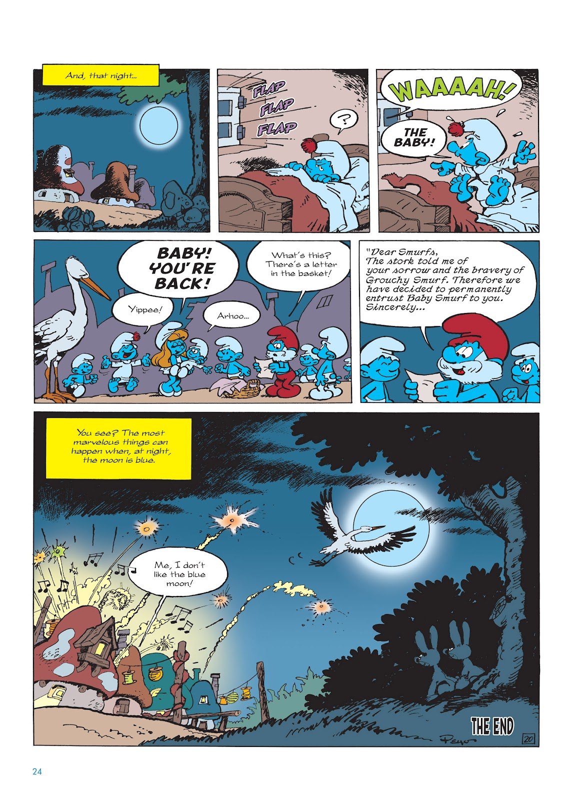 Read online The Smurfs comic -  Issue #14 - 25