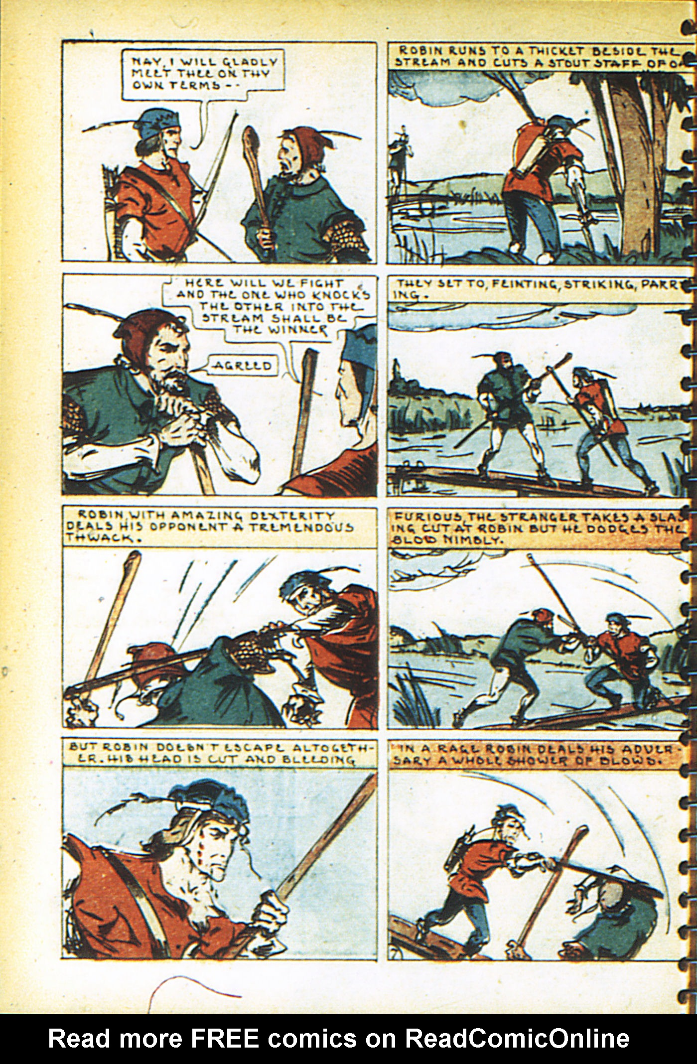 Read online Adventure Comics (1938) comic -  Issue #26 - 57