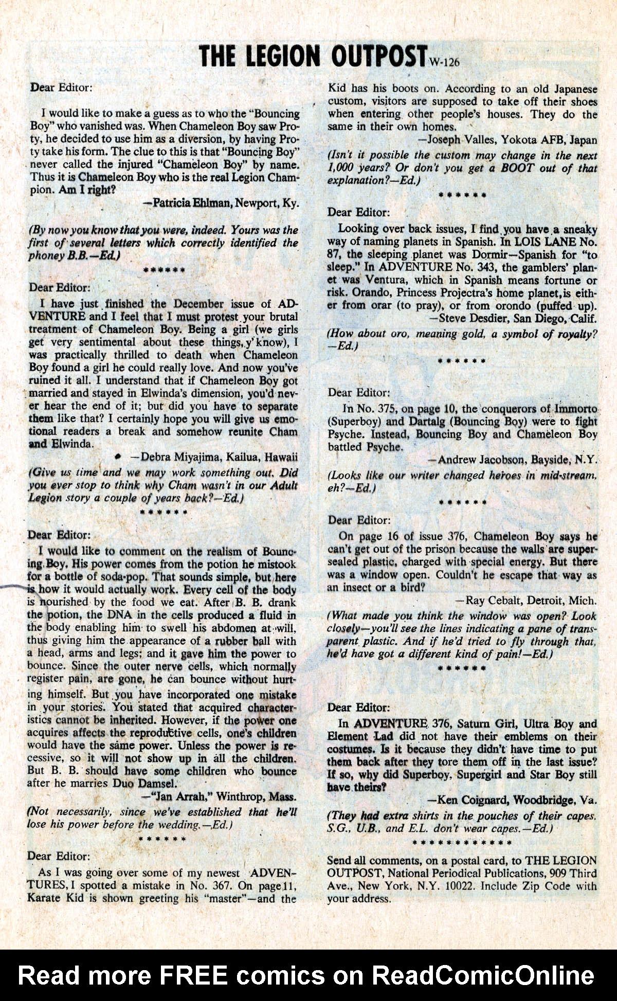 Read online Adventure Comics (1938) comic -  Issue #379 - 32