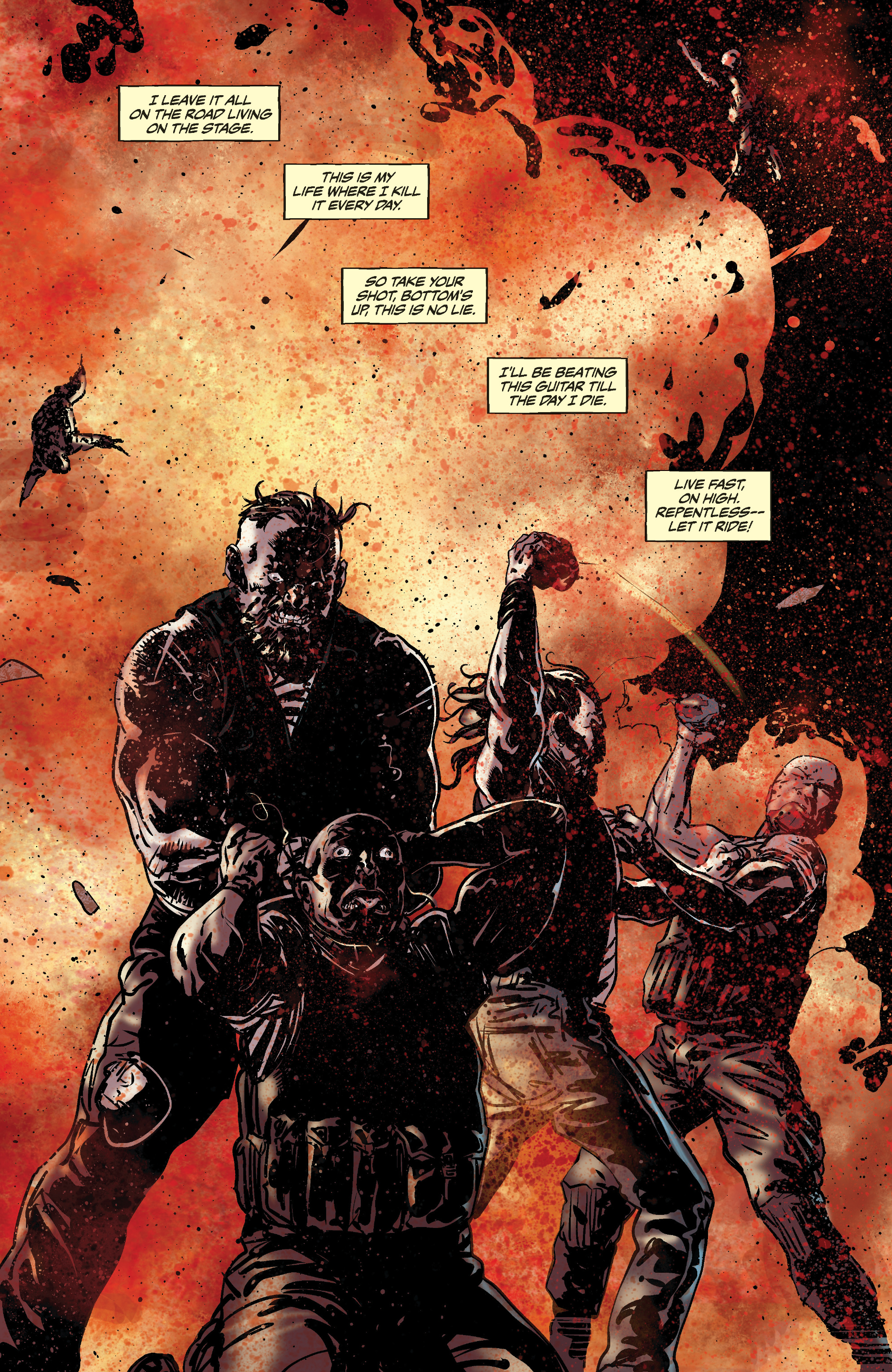 Read online Slayer: Repentless comic -  Issue #3 - 17
