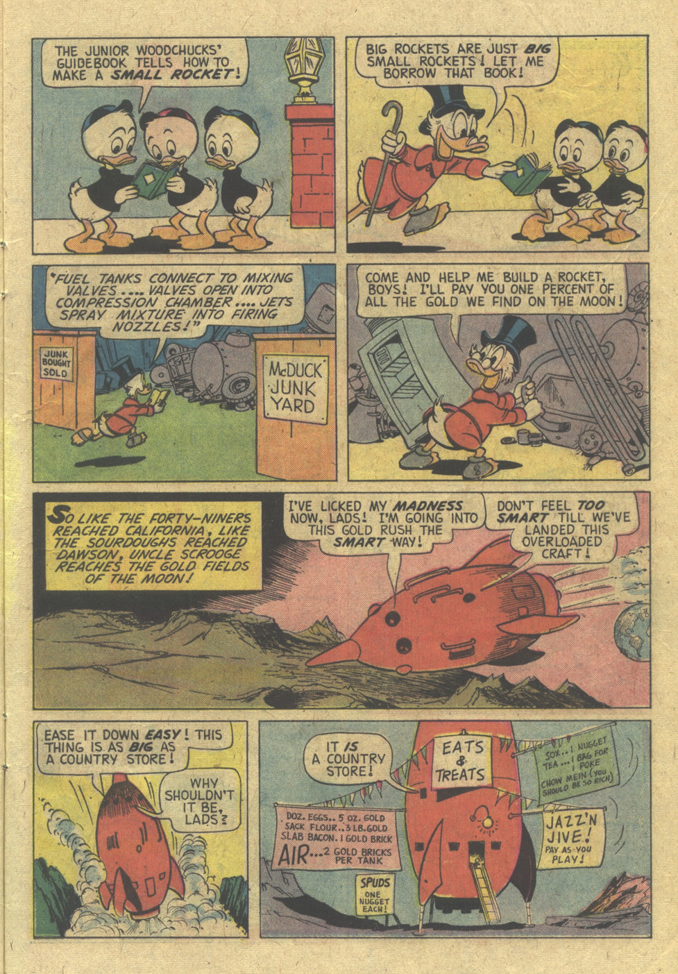 Read online Uncle Scrooge (1953) comic -  Issue #117 - 11