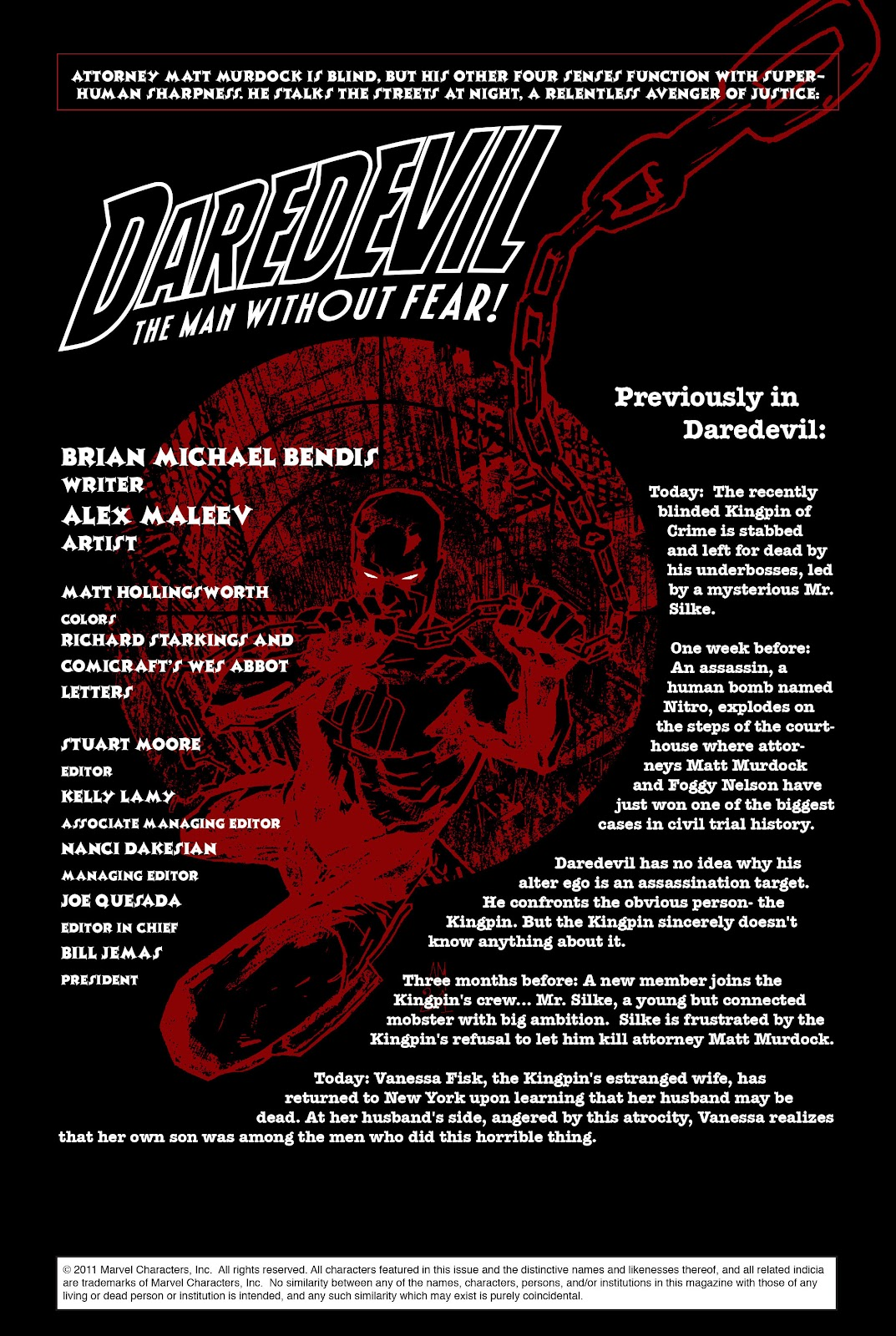 Read online Daredevil (1998) comic -  Issue # _Ultimate_Collection TPB 1 (Part 2) - 72