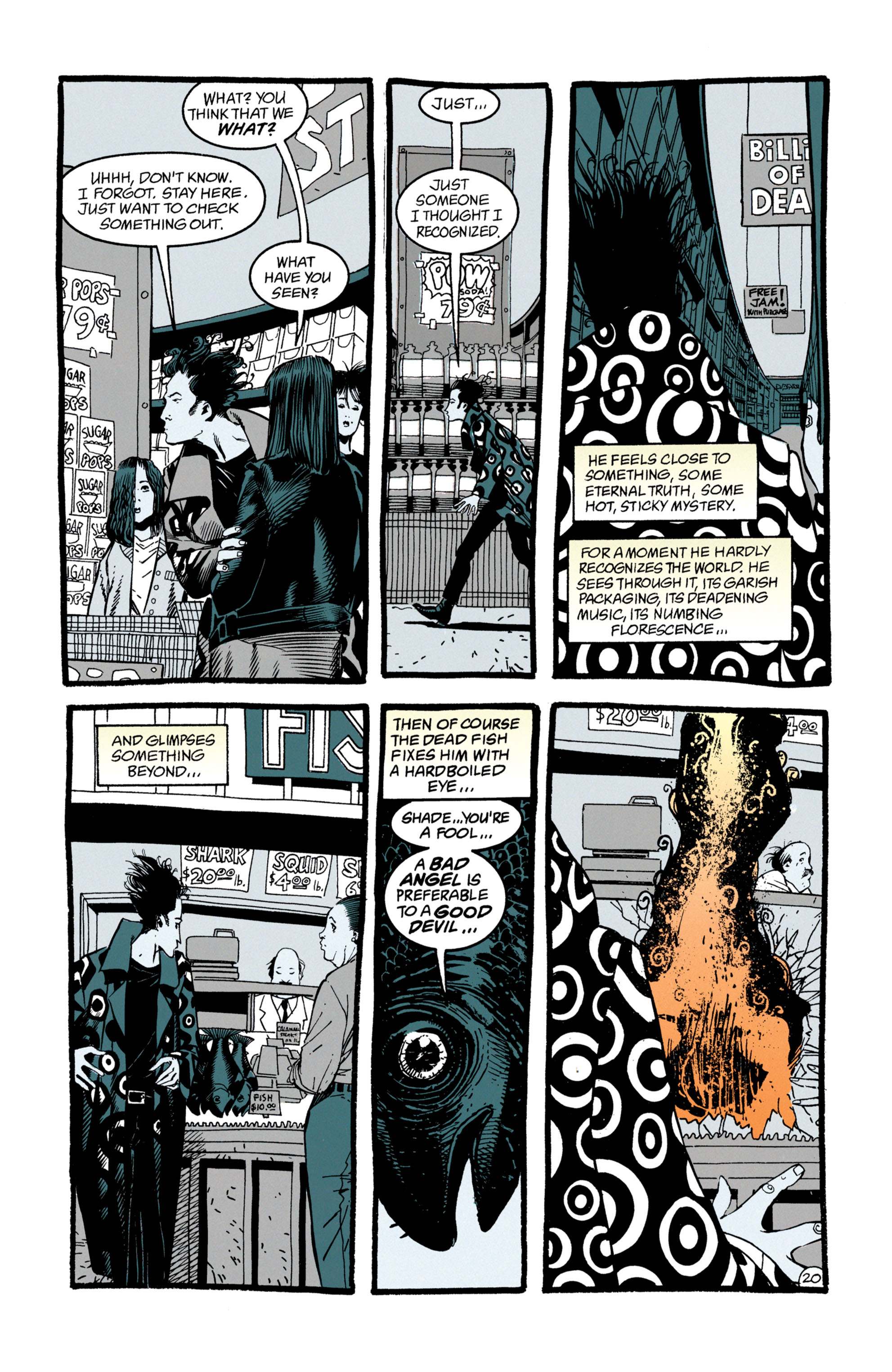 Read online Shade, the Changing Man comic -  Issue #50 - 21