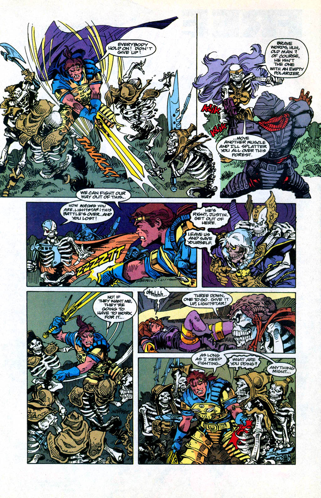 Skeleton Warriors Issue #3 #3 - English 6
