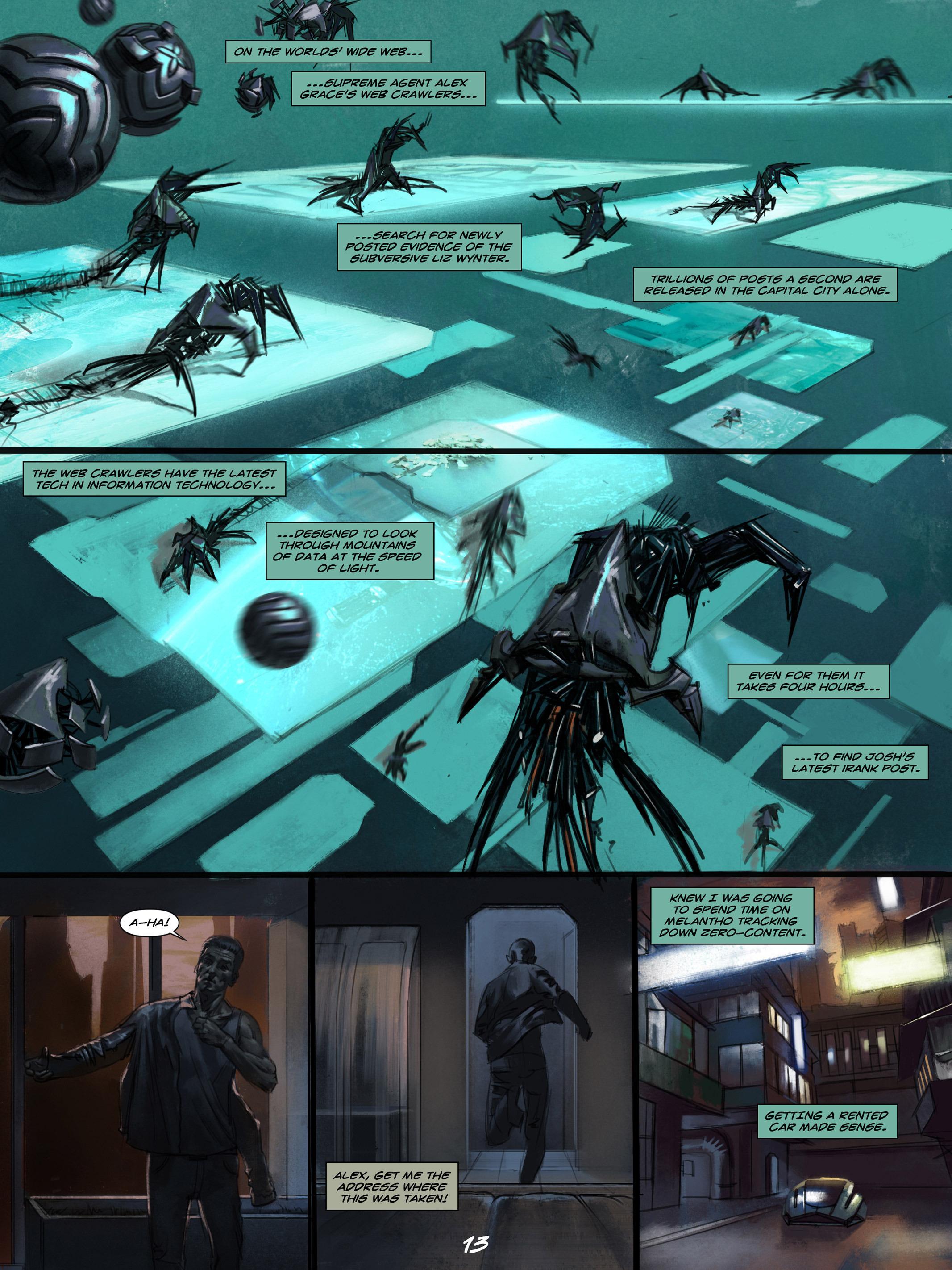 Read online Wynter comic -  Issue #4 - 14