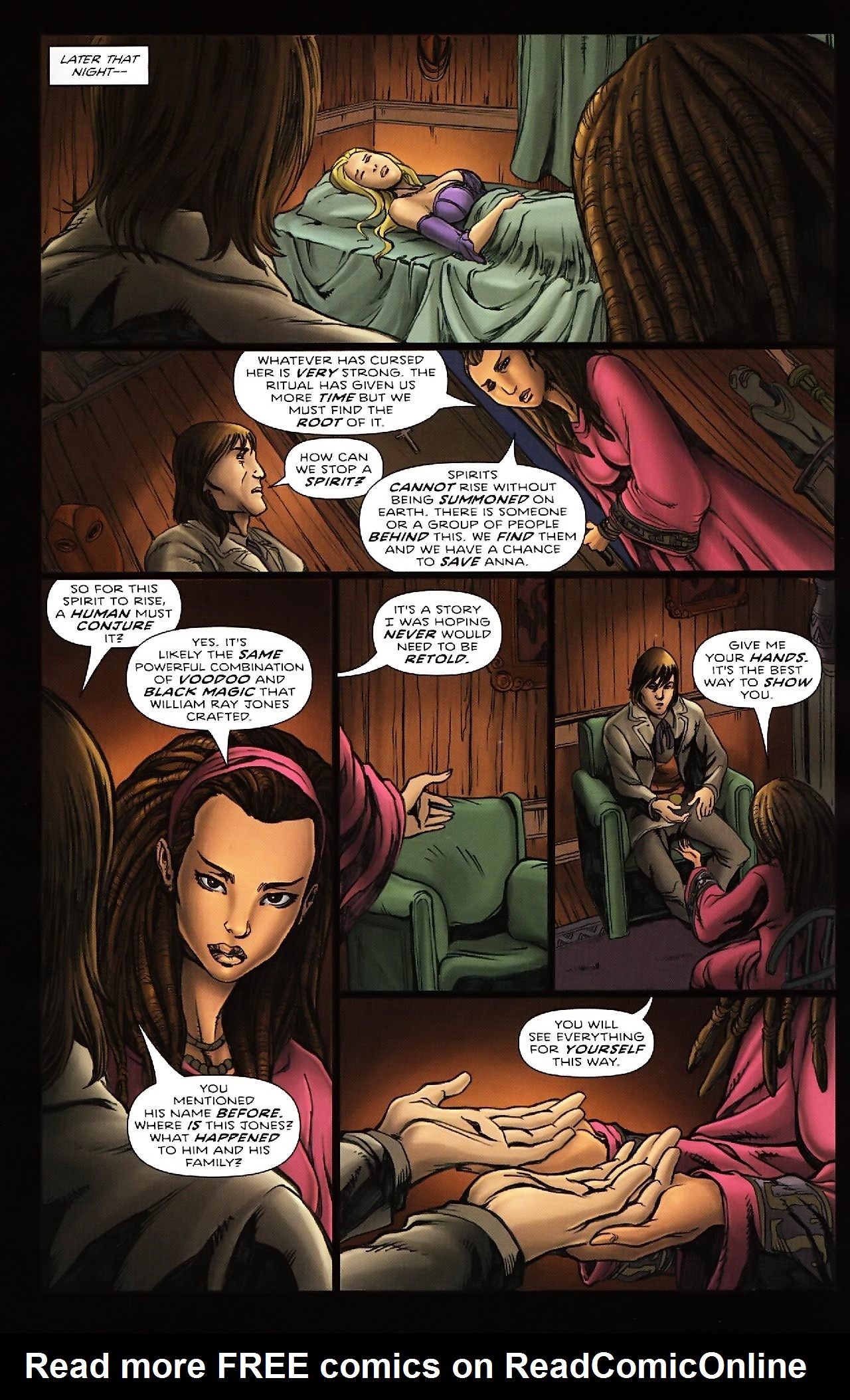 Read online Salem's Daughter: The Haunting comic -  Issue #4 - 15