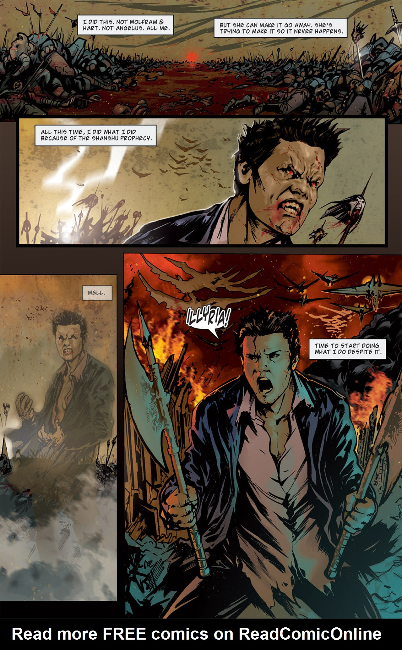 Read online Angel: After The Fall comic -  Issue #15 - 11