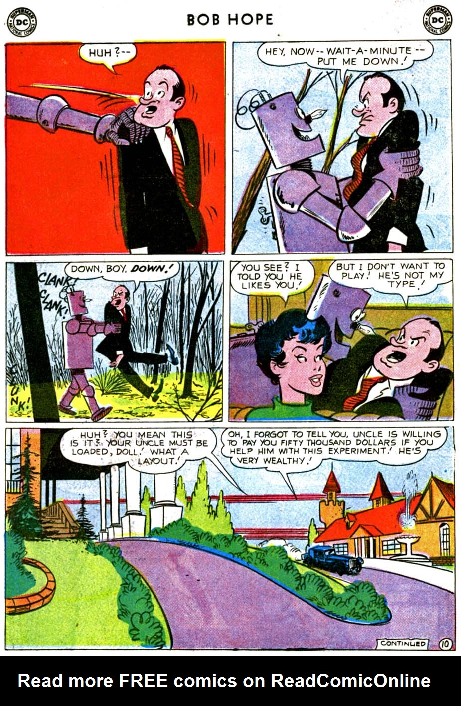 The Adventures of Bob Hope issue 68 - Page 12