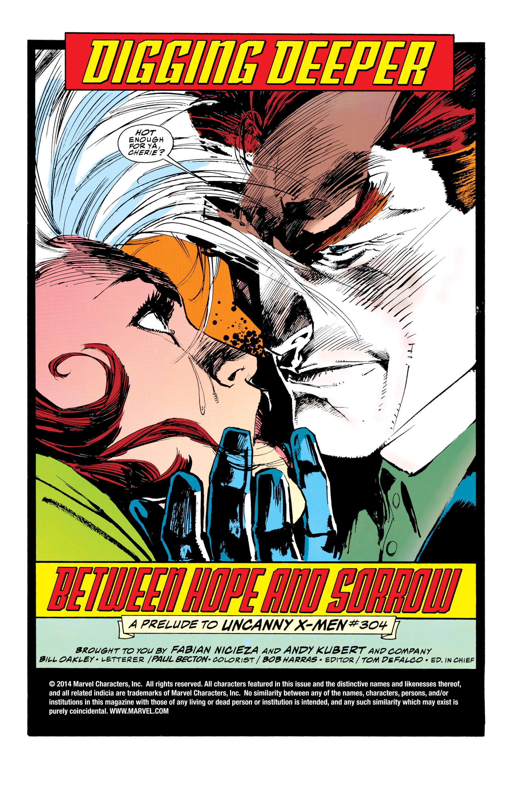 X-Men (1991) 24 Page 1