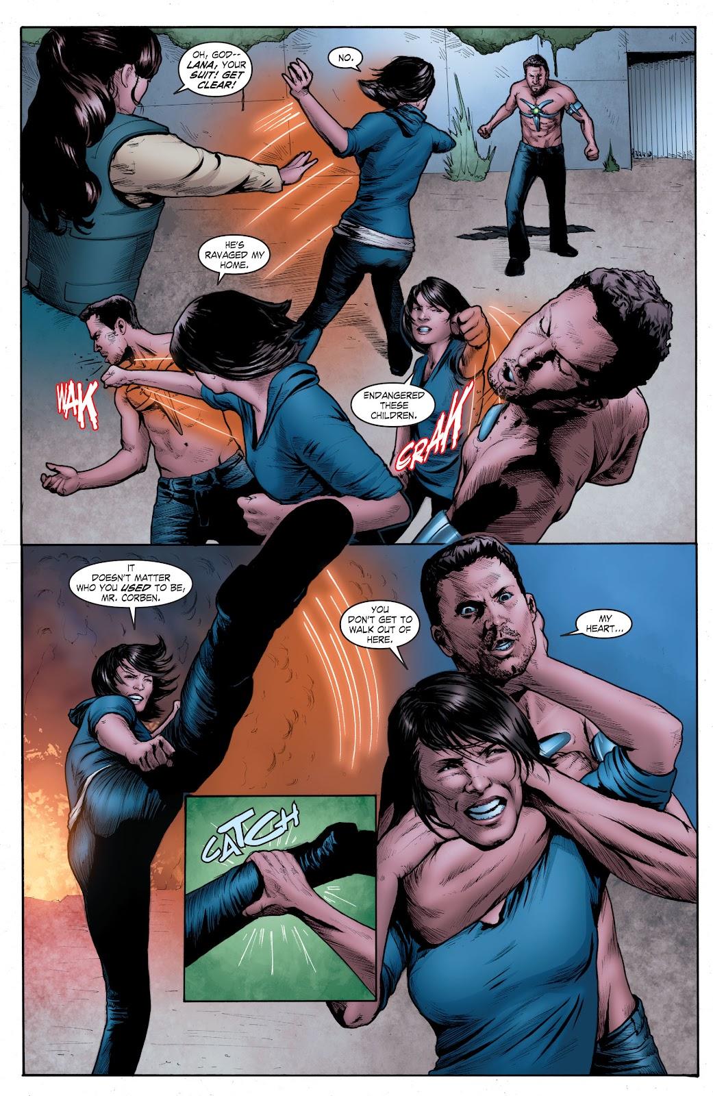 Read online Smallville Season 11 [II] comic -  Issue # TPB 4 - 130