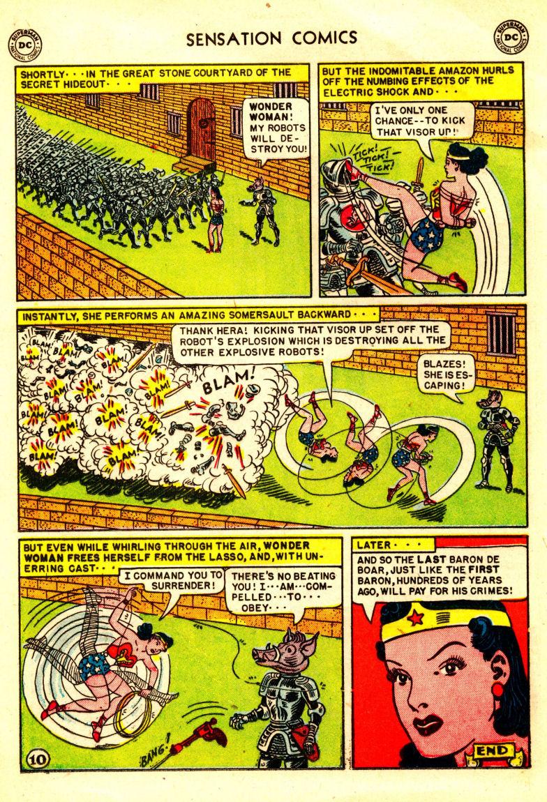 Read online Sensation (Mystery) Comics comic -  Issue #106 - 12