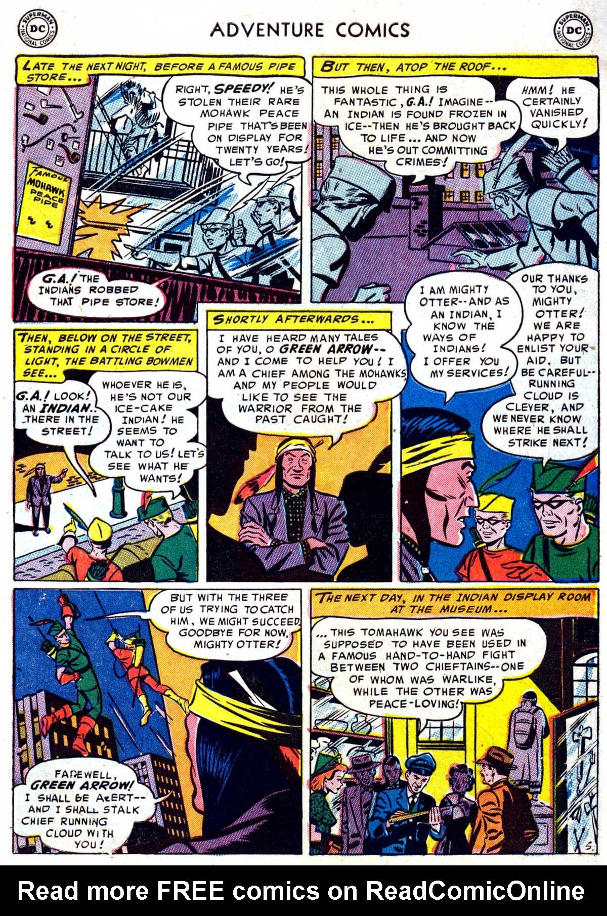 Read online Adventure Comics (1938) comic -  Issue #199 - 31
