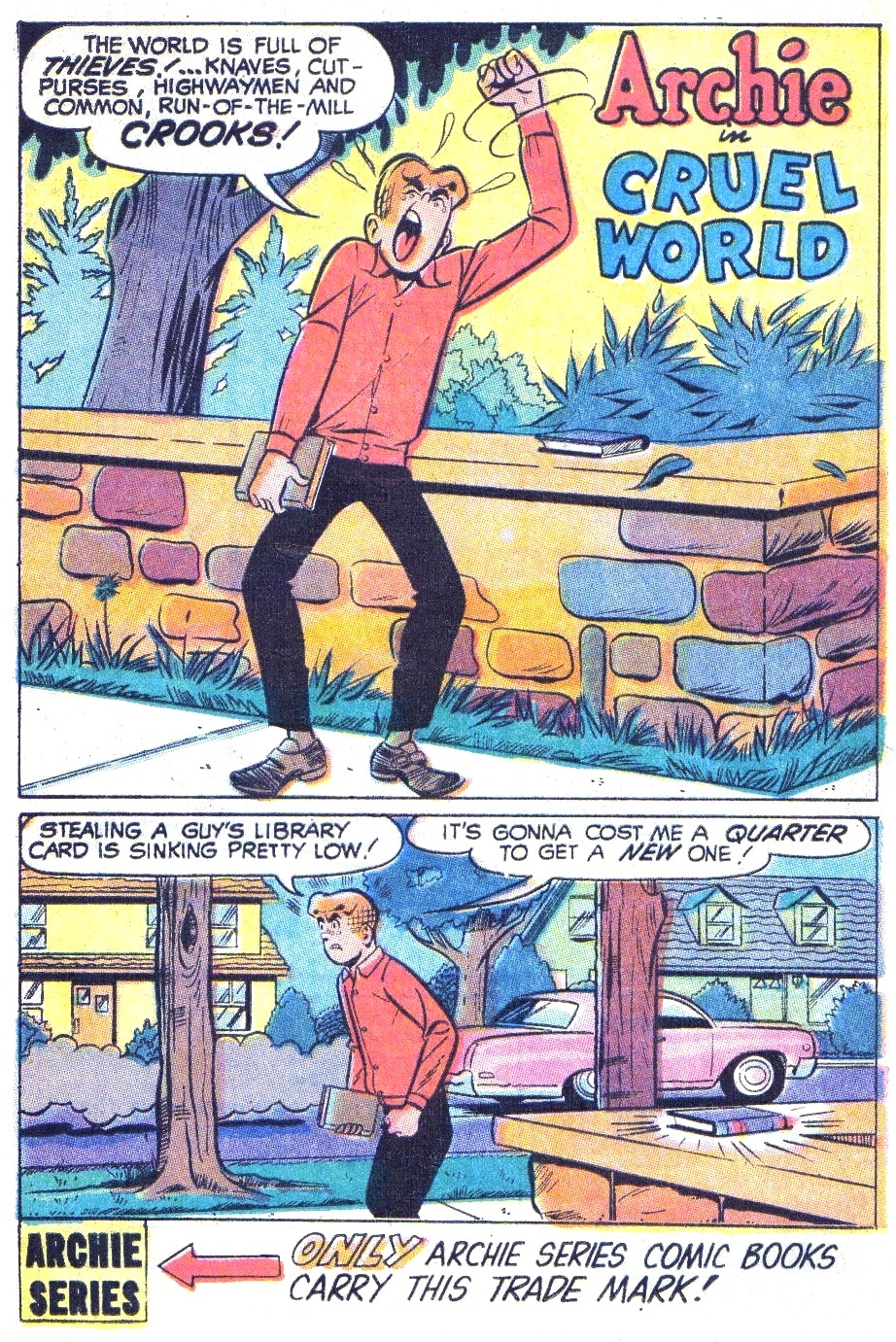 Read online Archie (1960) comic -  Issue #196 - 20