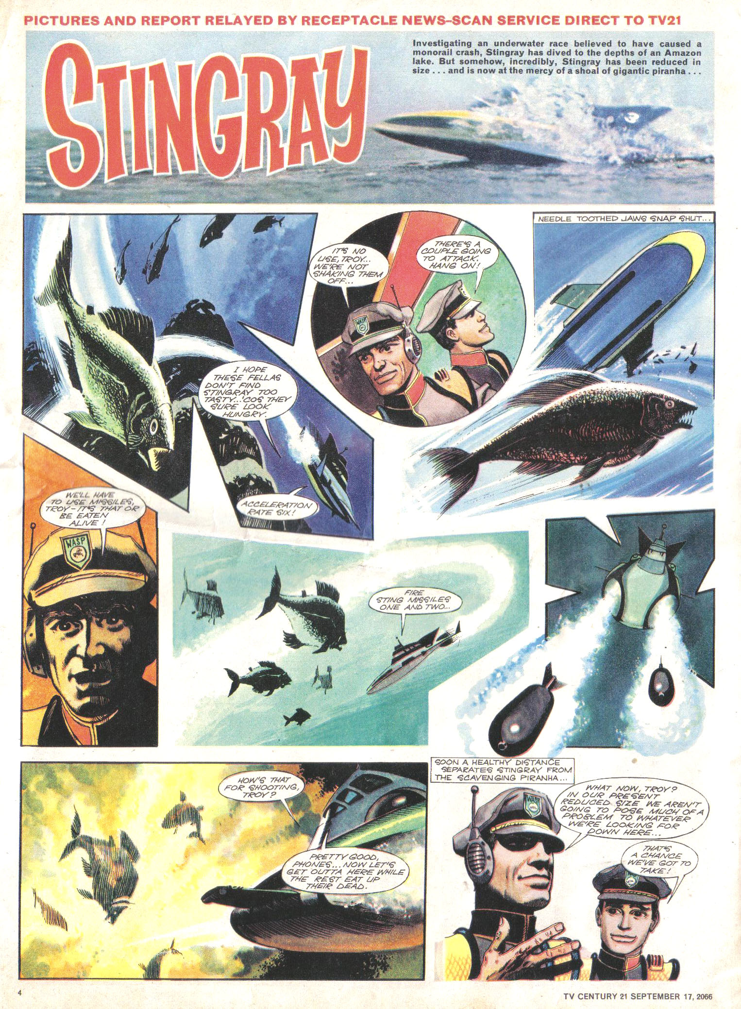 Read online TV Century 21 (TV 21) comic -  Issue #87 - 4