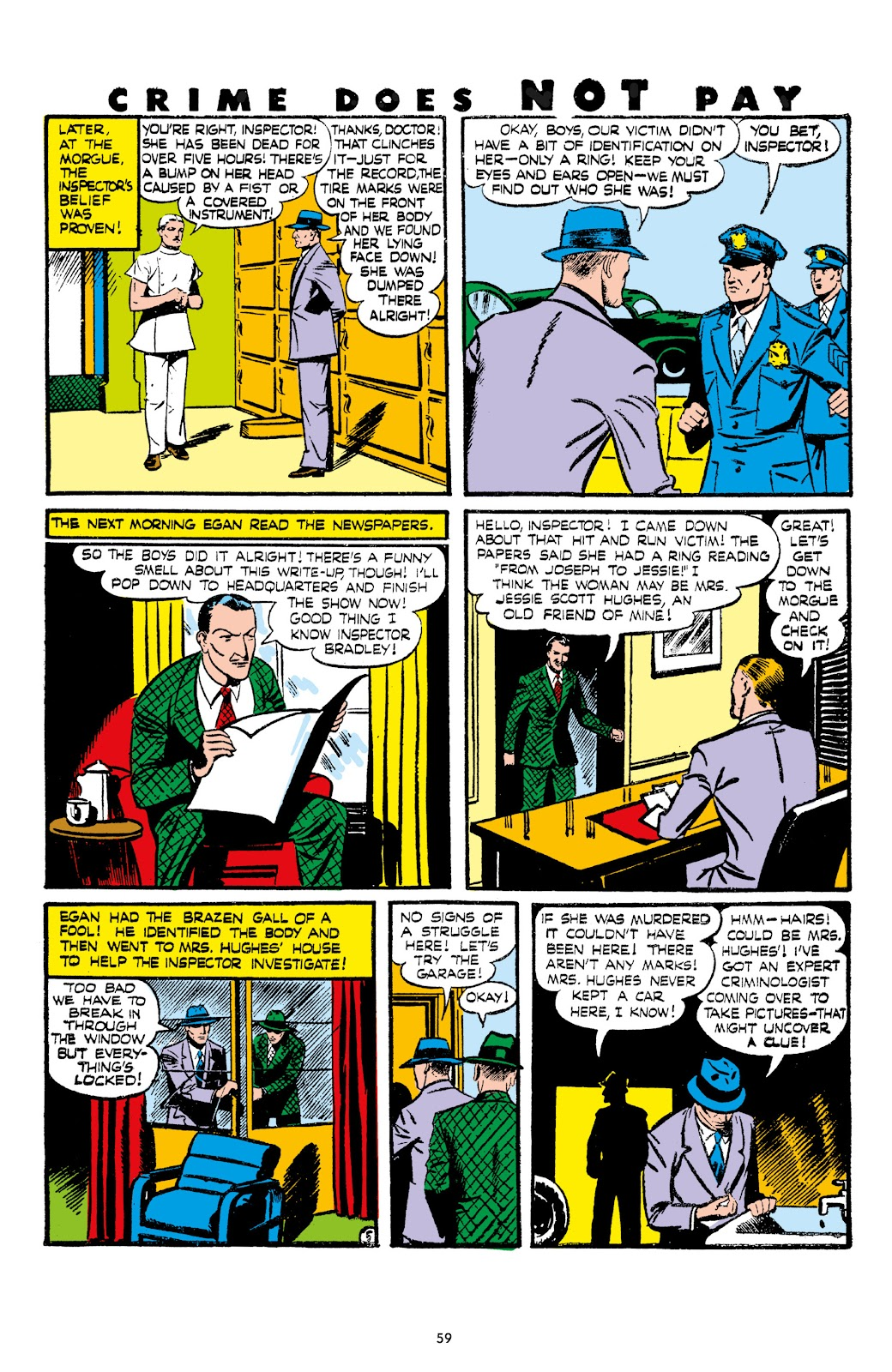 Read online Crime Does Not Pay Archives comic -  Issue # TPB 7 (Part 1) - 61