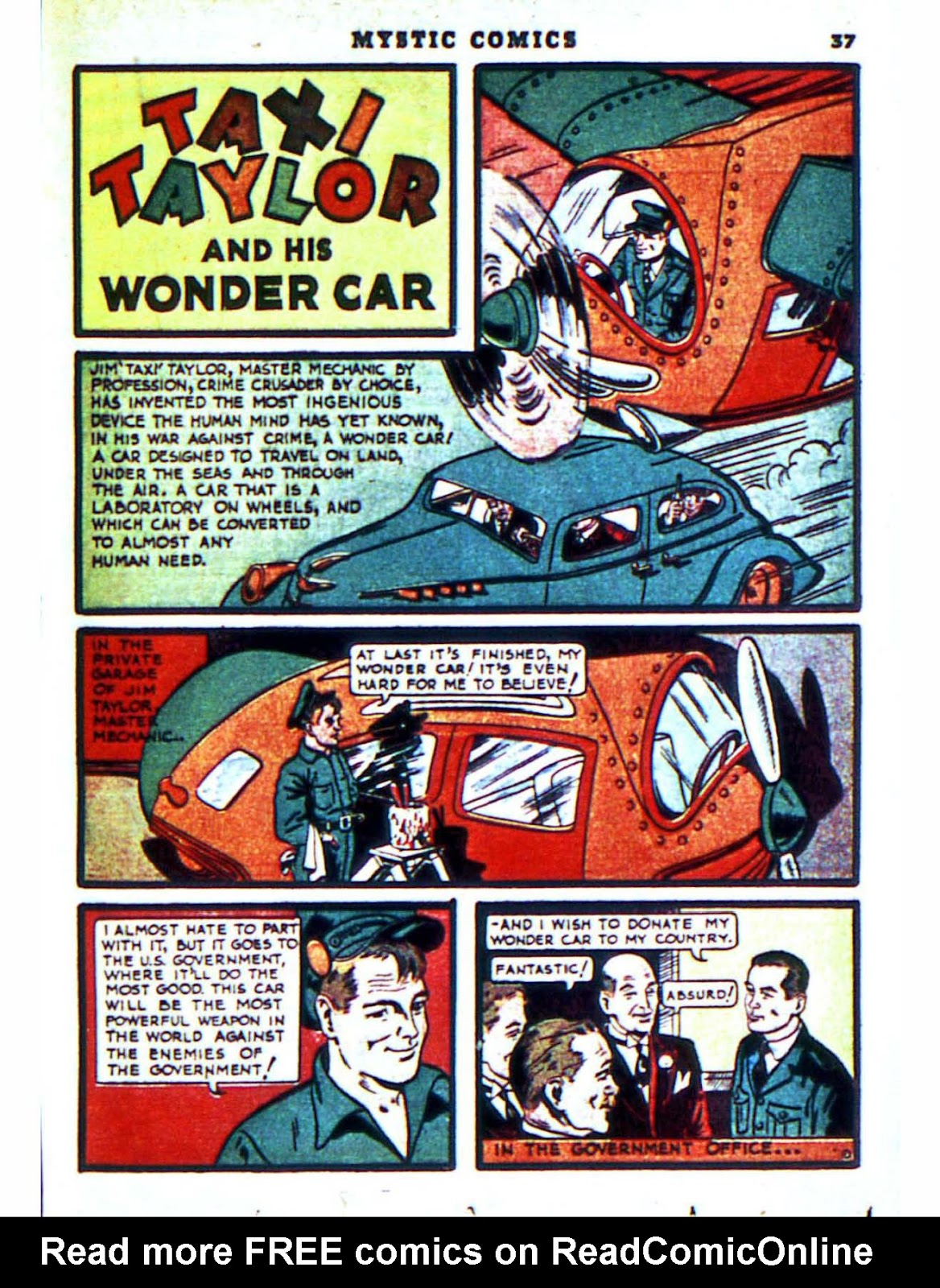 Mystic Comics (1940) issue 2 - Page 39