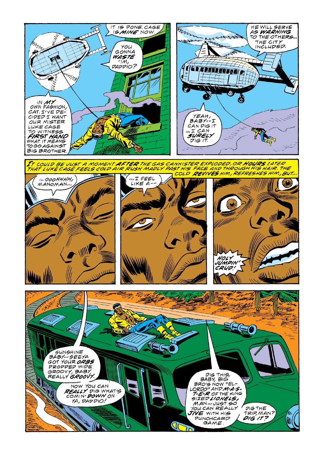 Read online Marvel Masterworks: Luke Cage, Power Man comic -  Issue # TPB 3 (Part 2) - 83