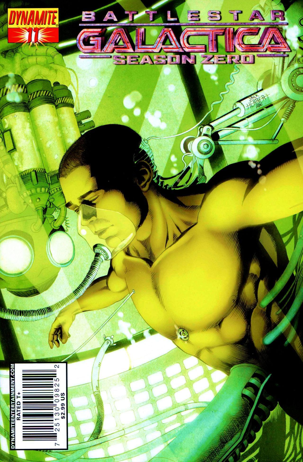 Battlestar Galactica: Season Zero 11 Page 1