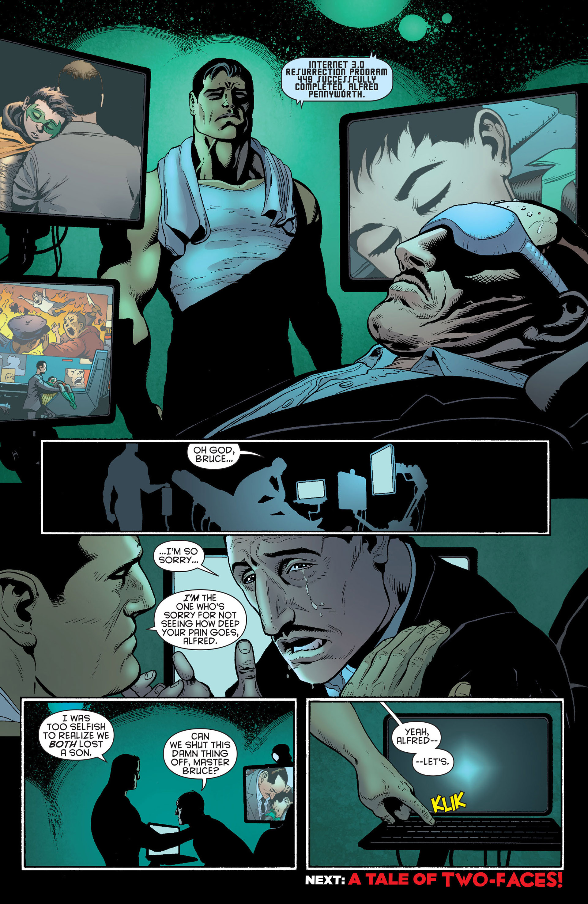 Read online Batman and Robin (2011) comic -  Issue #23 - Batman and Nightwing - 20