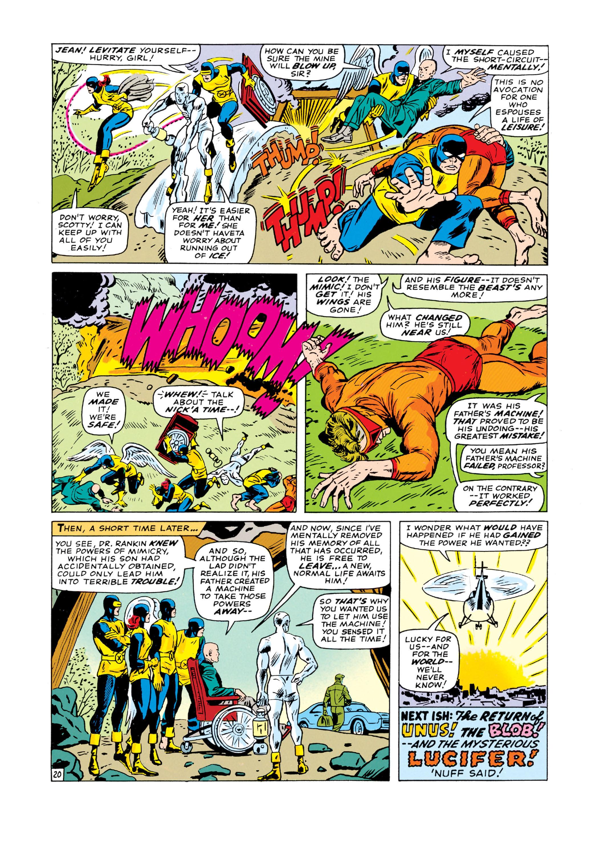 Read online Uncanny X-Men (1963) comic -  Issue #19 - 21
