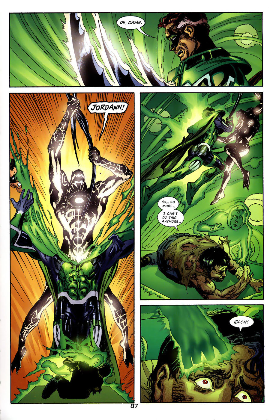 Read online Green Lantern: Legacy: The Last Will and Testament of Hal Jordan comic -  Issue # TPB - 93