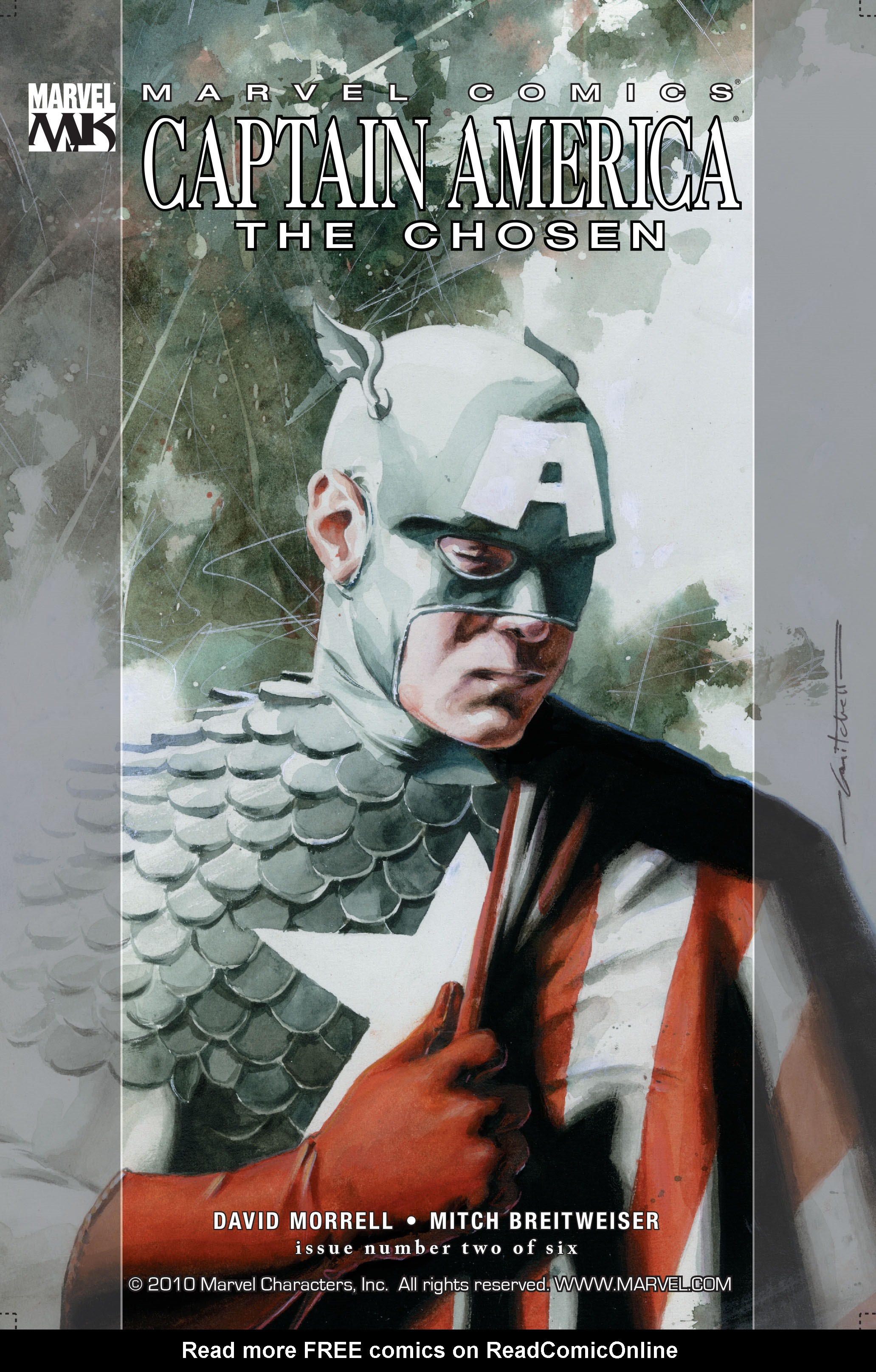 Captain America: The Chosen 2 Page 1
