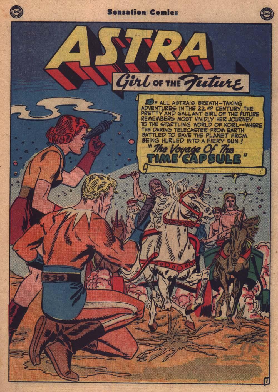 Read online Sensation (Mystery) Comics comic -  Issue #103 - 14
