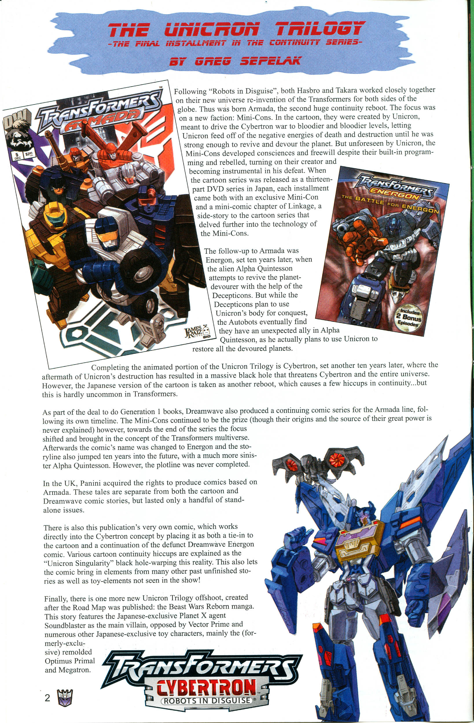 Read online Transformers: Collectors' Club comic -  Issue #12 - 2