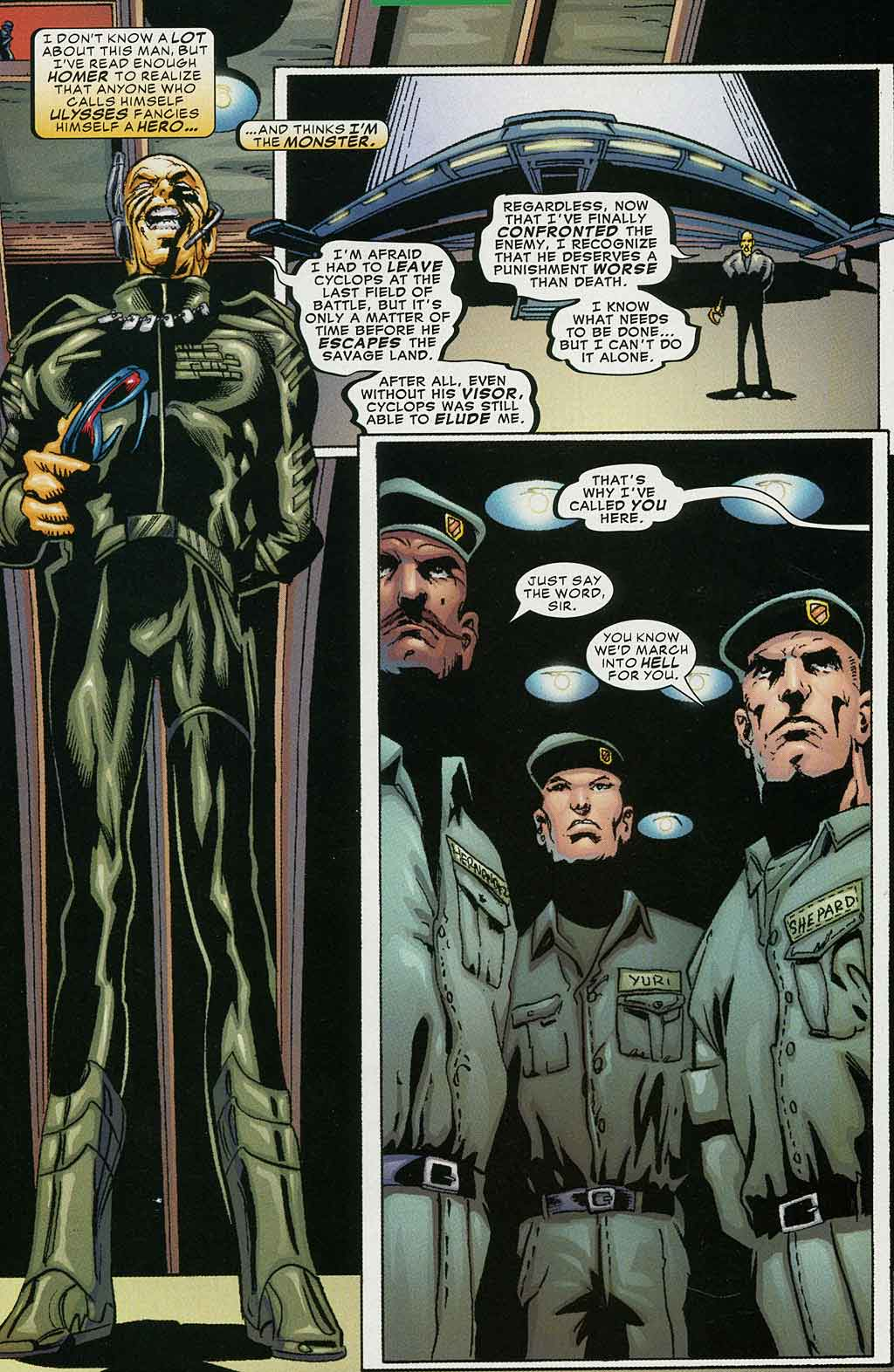 Read online Cyclops (2001) comic -  Issue #4 - 6