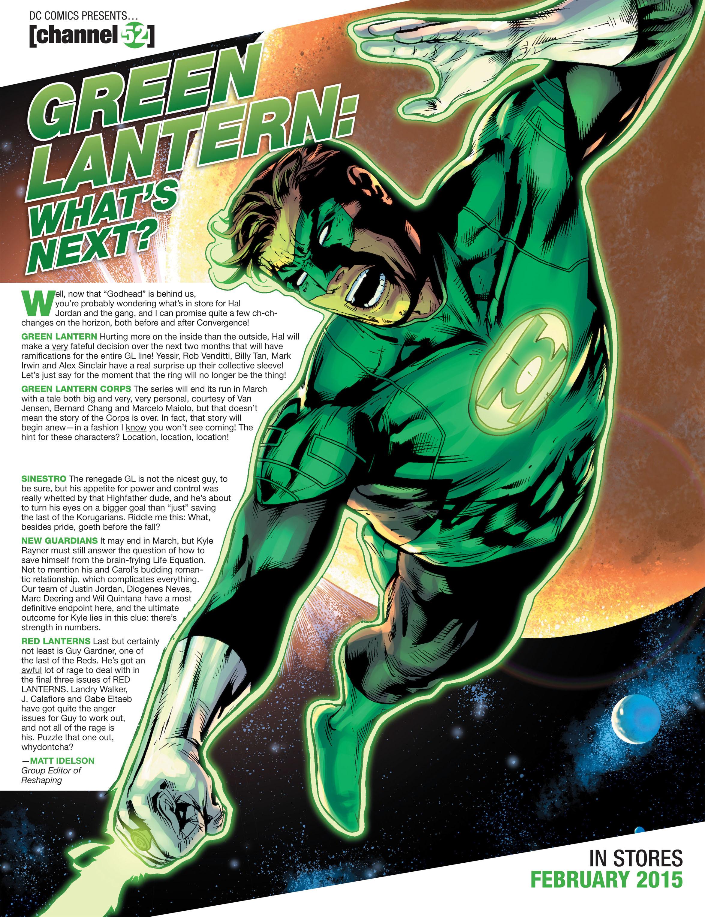 Read online Sinestro comic -  Issue #9 - 22