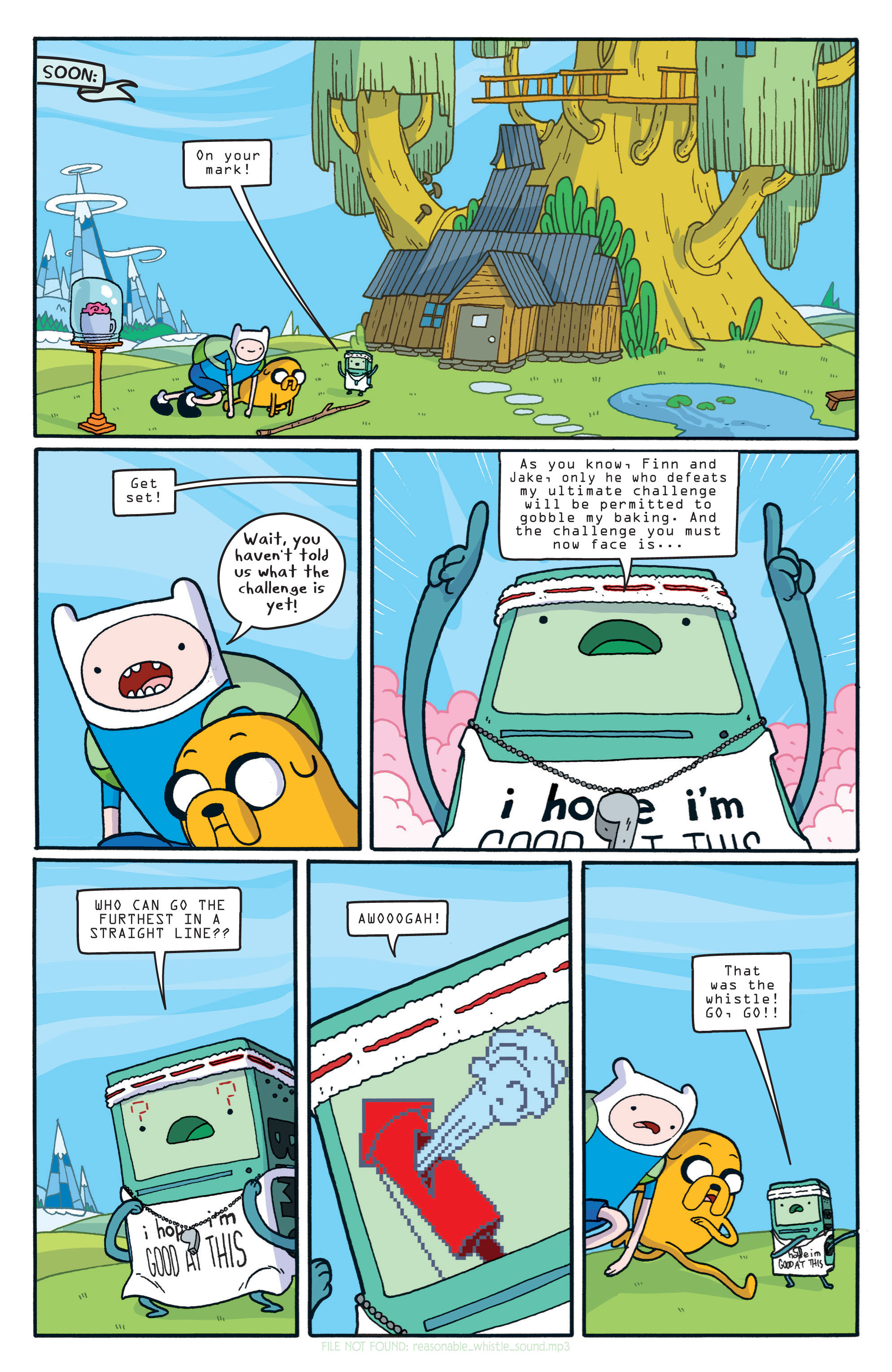Read online Adventure Time comic -  Issue #5 - 9