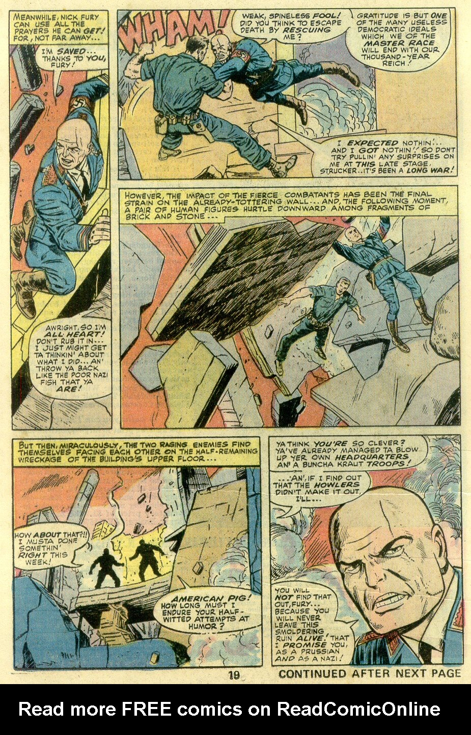 Read online Sgt. Fury comic -  Issue #131 - 21