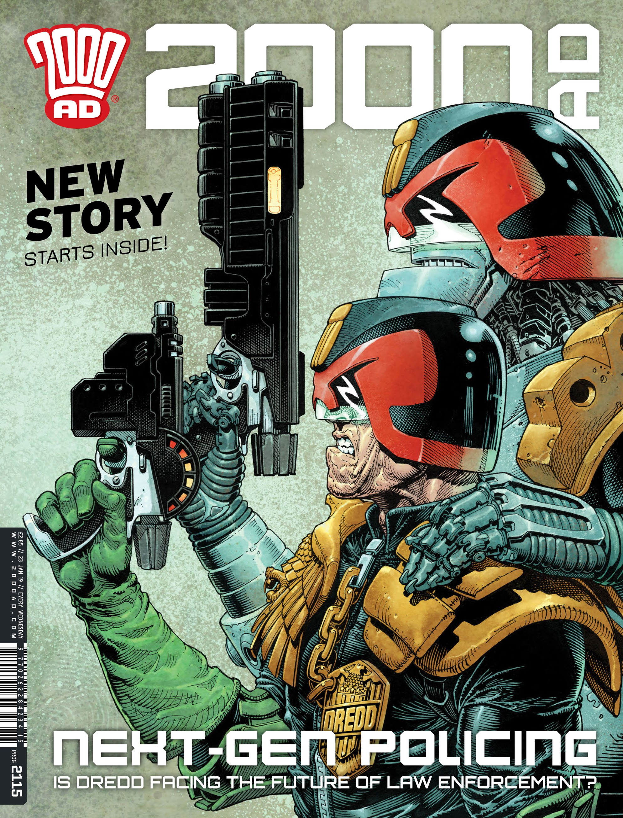 2000 AD 2115 Page 1