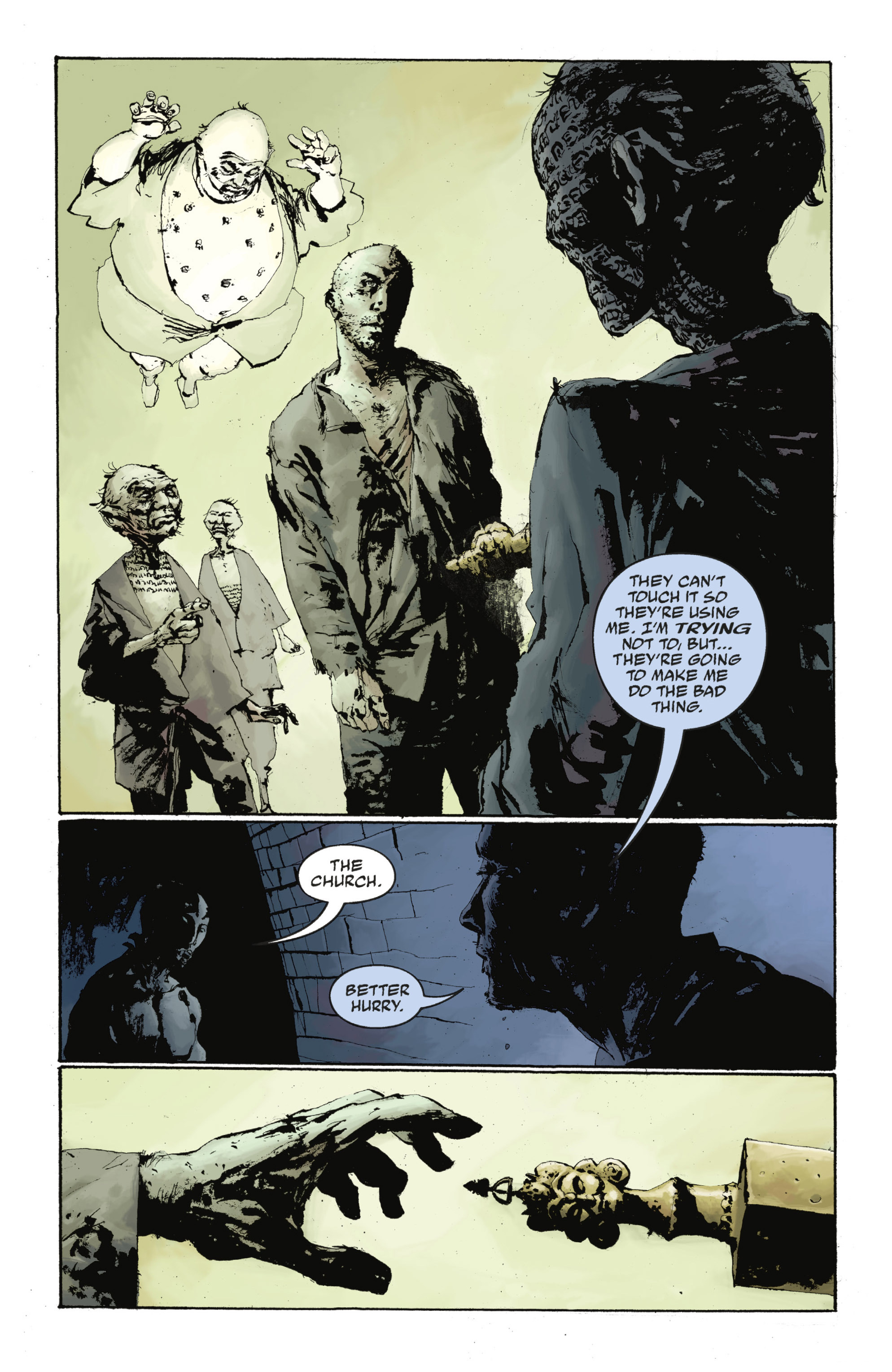 Read online Abe Sapien: The Drowning comic -  Issue #Abe Sapien: The Drowning _TPB - 110