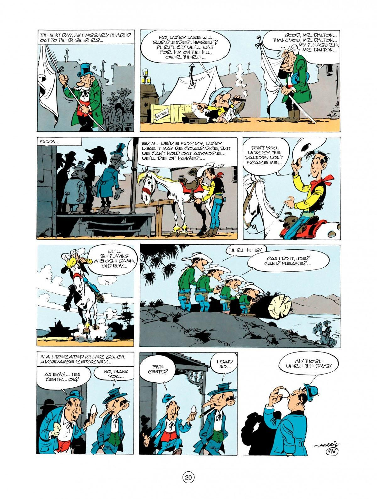Read online A Lucky Luke Adventure comic -  Issue #28 - 21