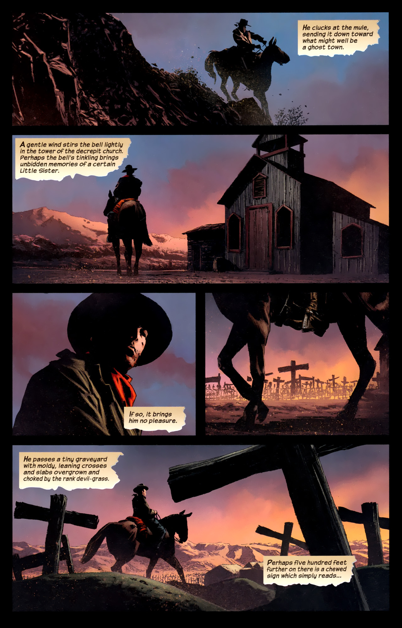 Read online Dark Tower: The Gunslinger - The Battle of Tull comic -  Issue #1 - 12