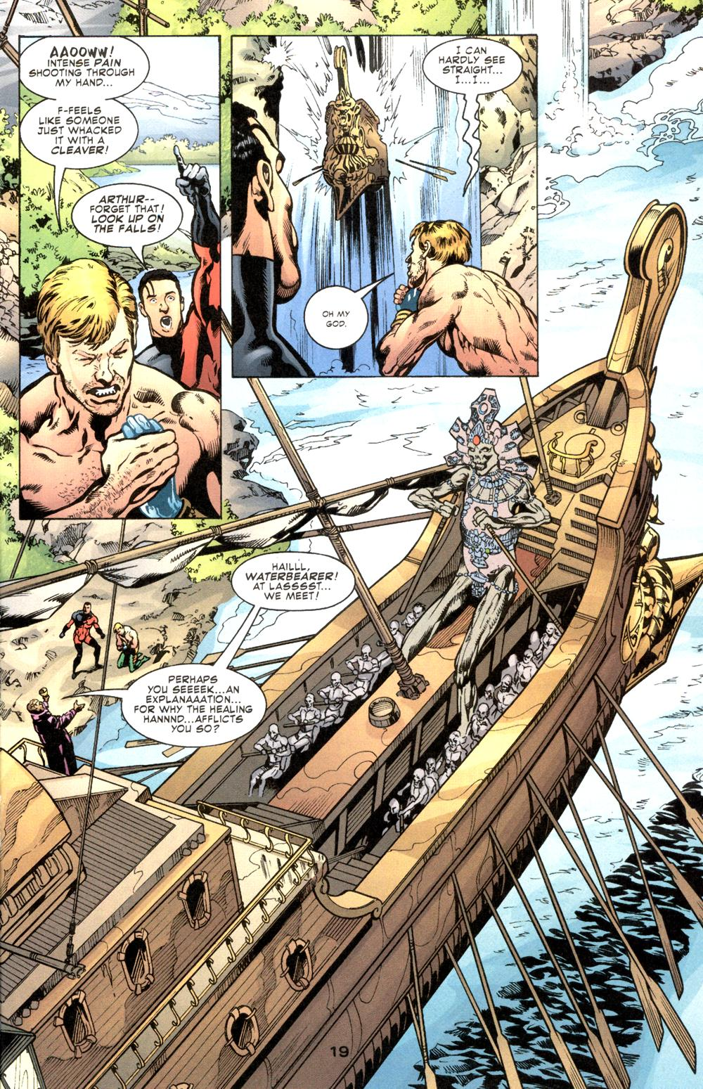 Read online Aquaman (2003) comic -  Issue #6 - 21