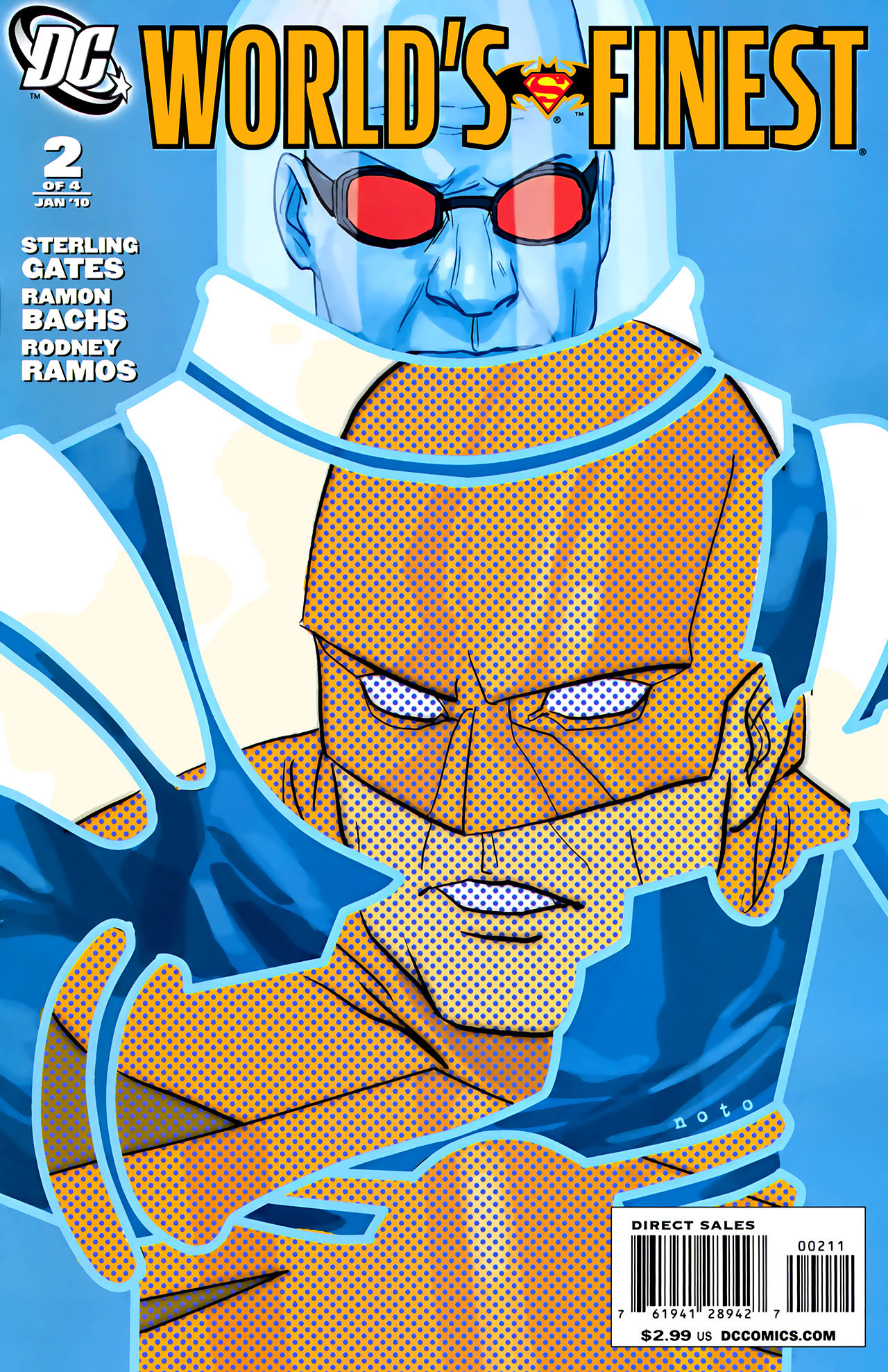 Read online World's Finest (2009) comic -  Issue #2 - 1